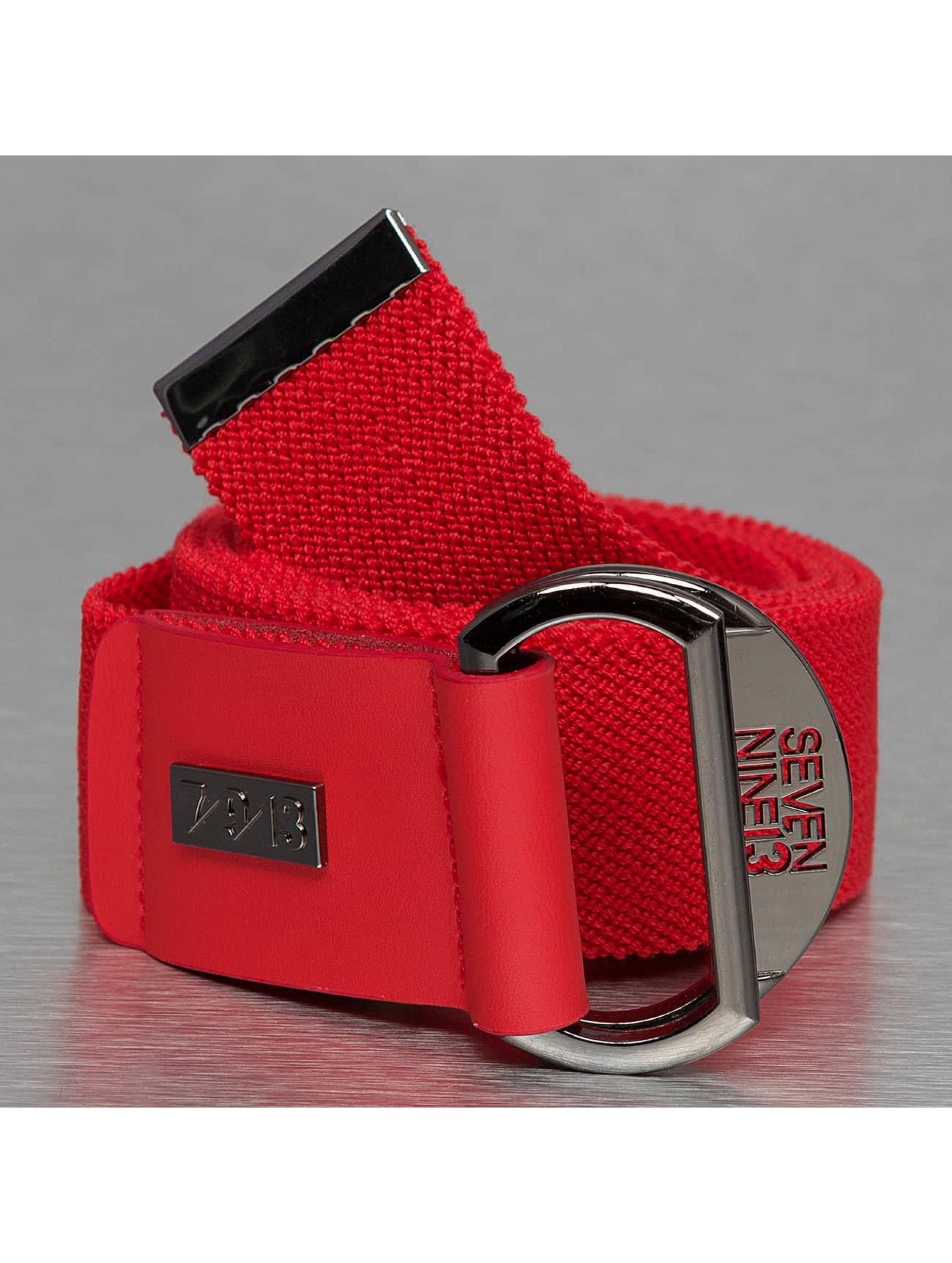 Seven Nine 13 Ceinture Looper Stretch rouge