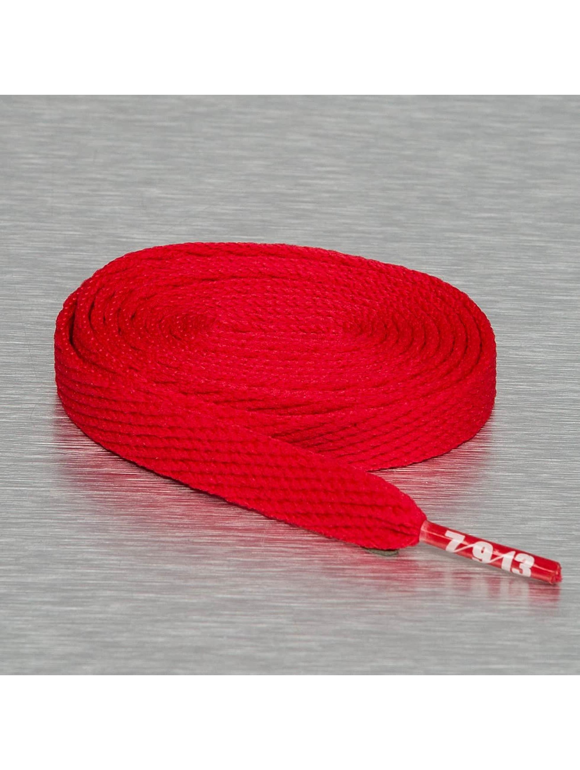 Seven Nine 13 Kengännauha Hard Candy Flat punainen