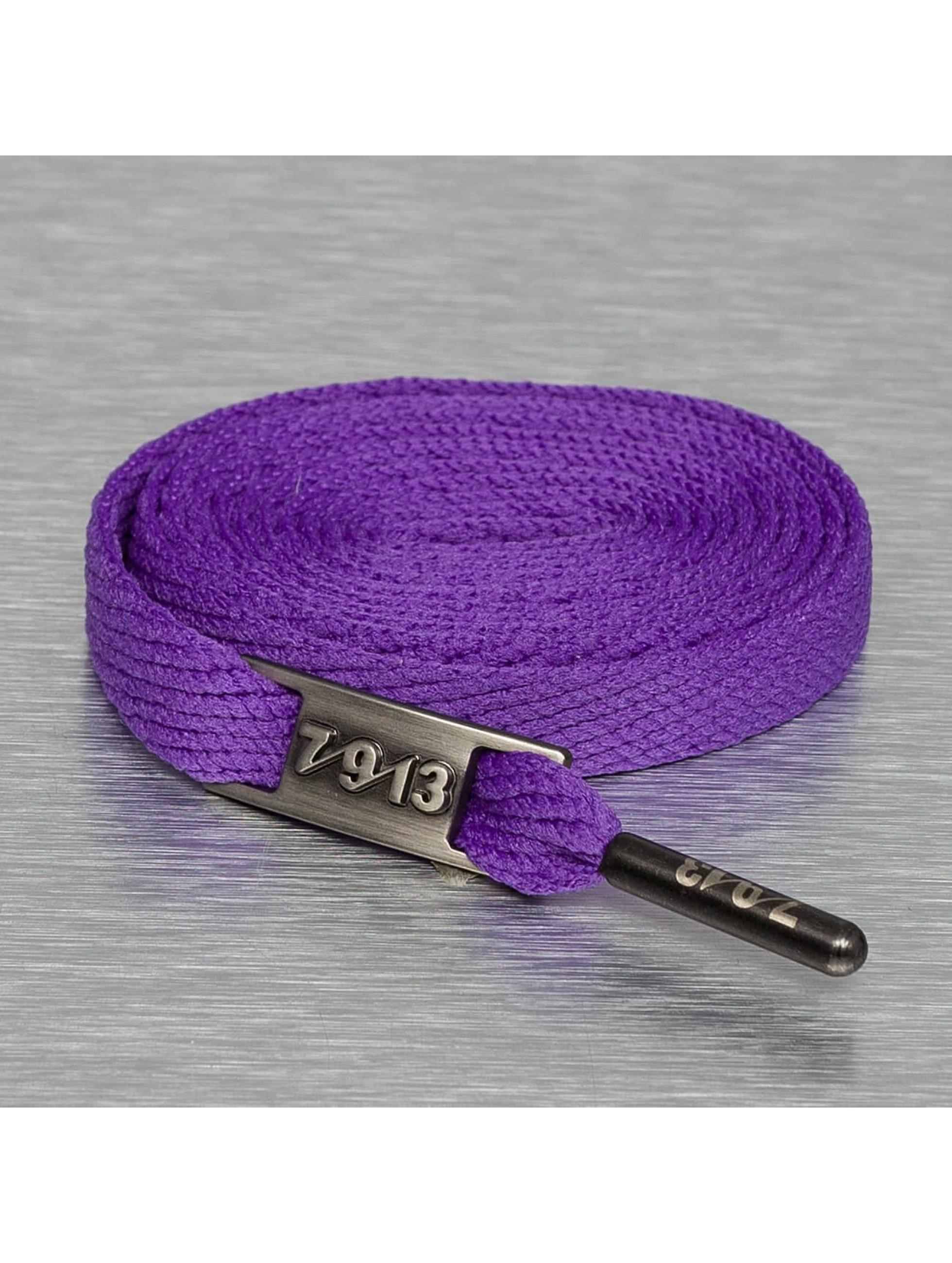 Seven Nine 13 Kengännauha Full Metal purpuranpunainen
