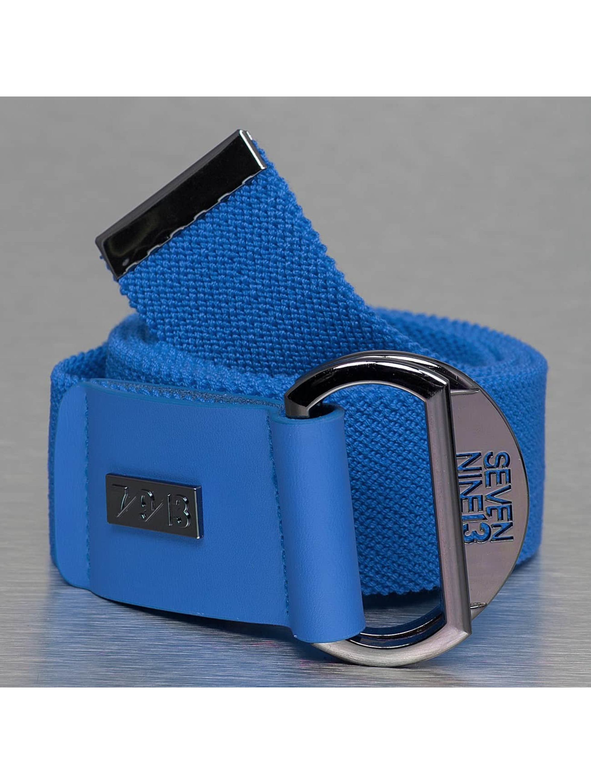 Seven Nine 13 Paski Looper Stretch niebieski