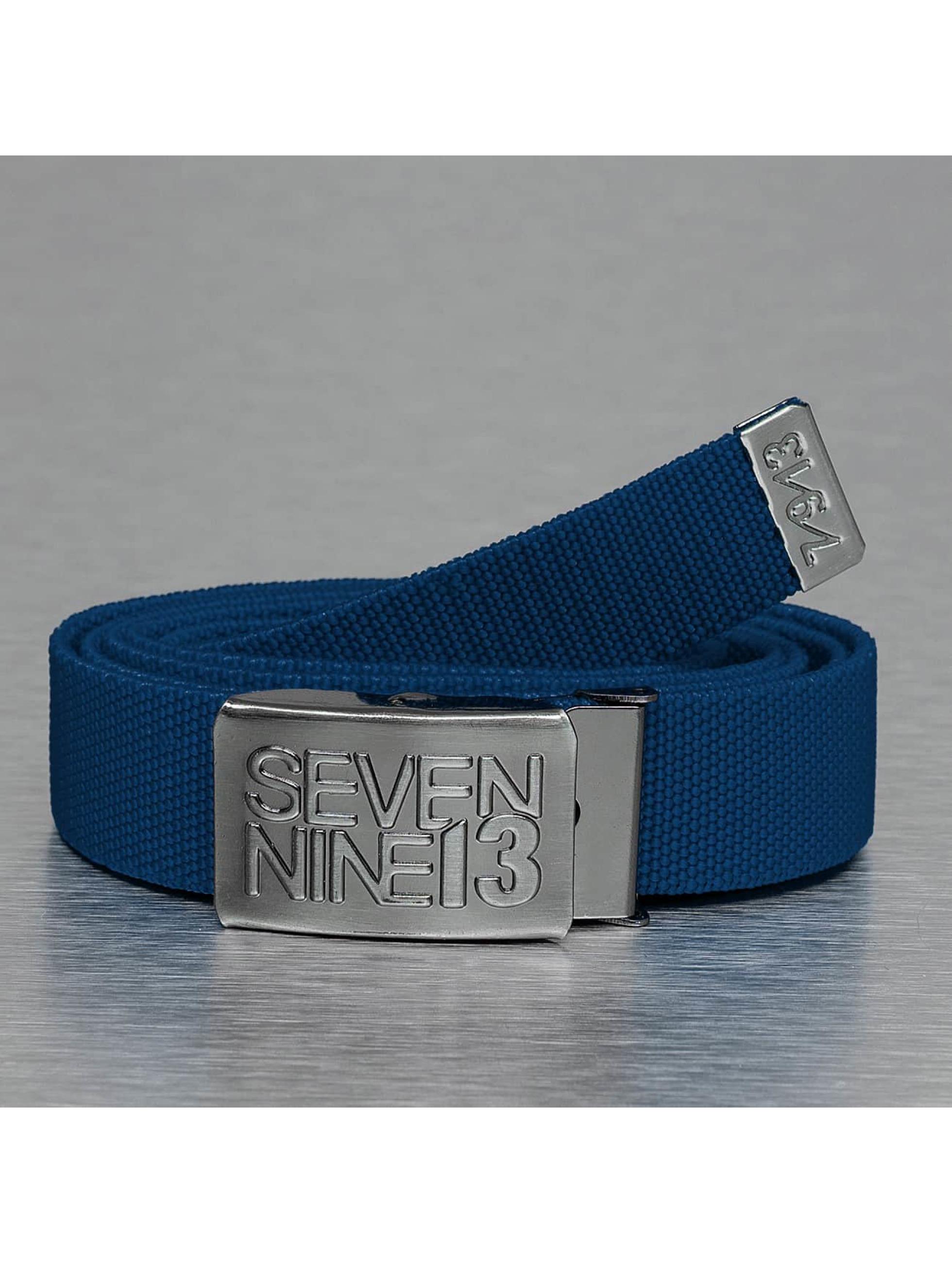 Seven Nine 13 riem Jaws Stretc blauw