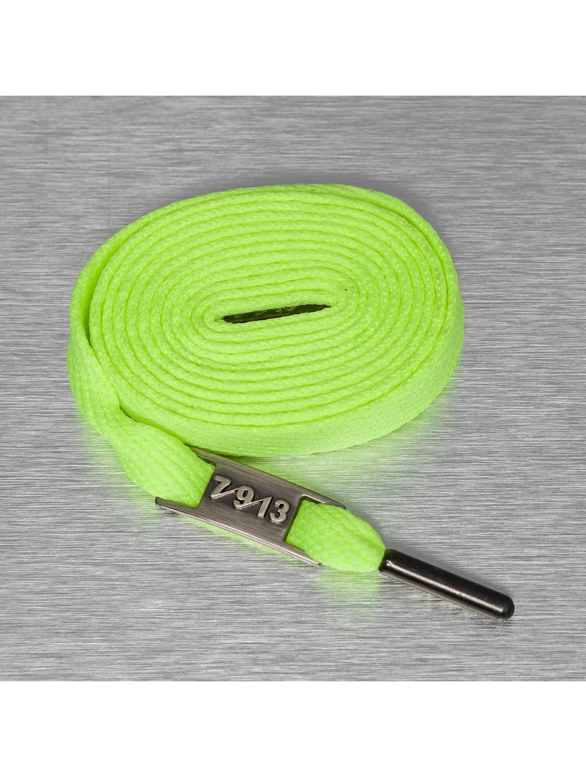 Seven Nine 13 Shoelace Full Metal green