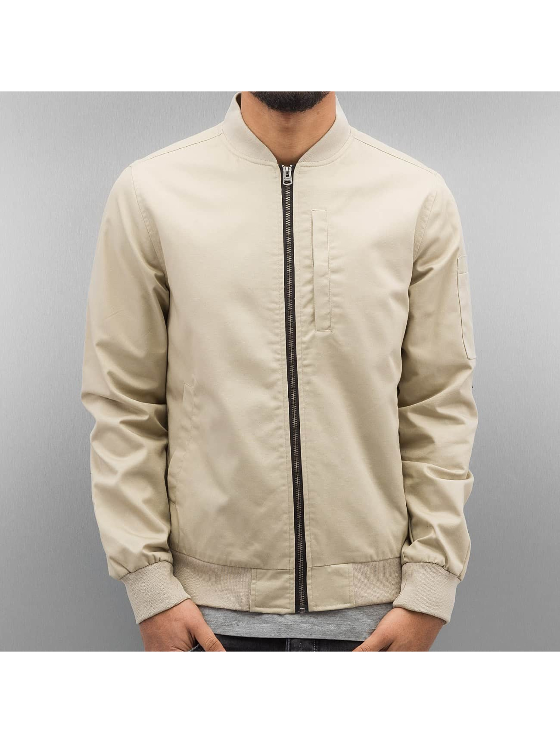 SHINE Original Bomber jacket Rex beige