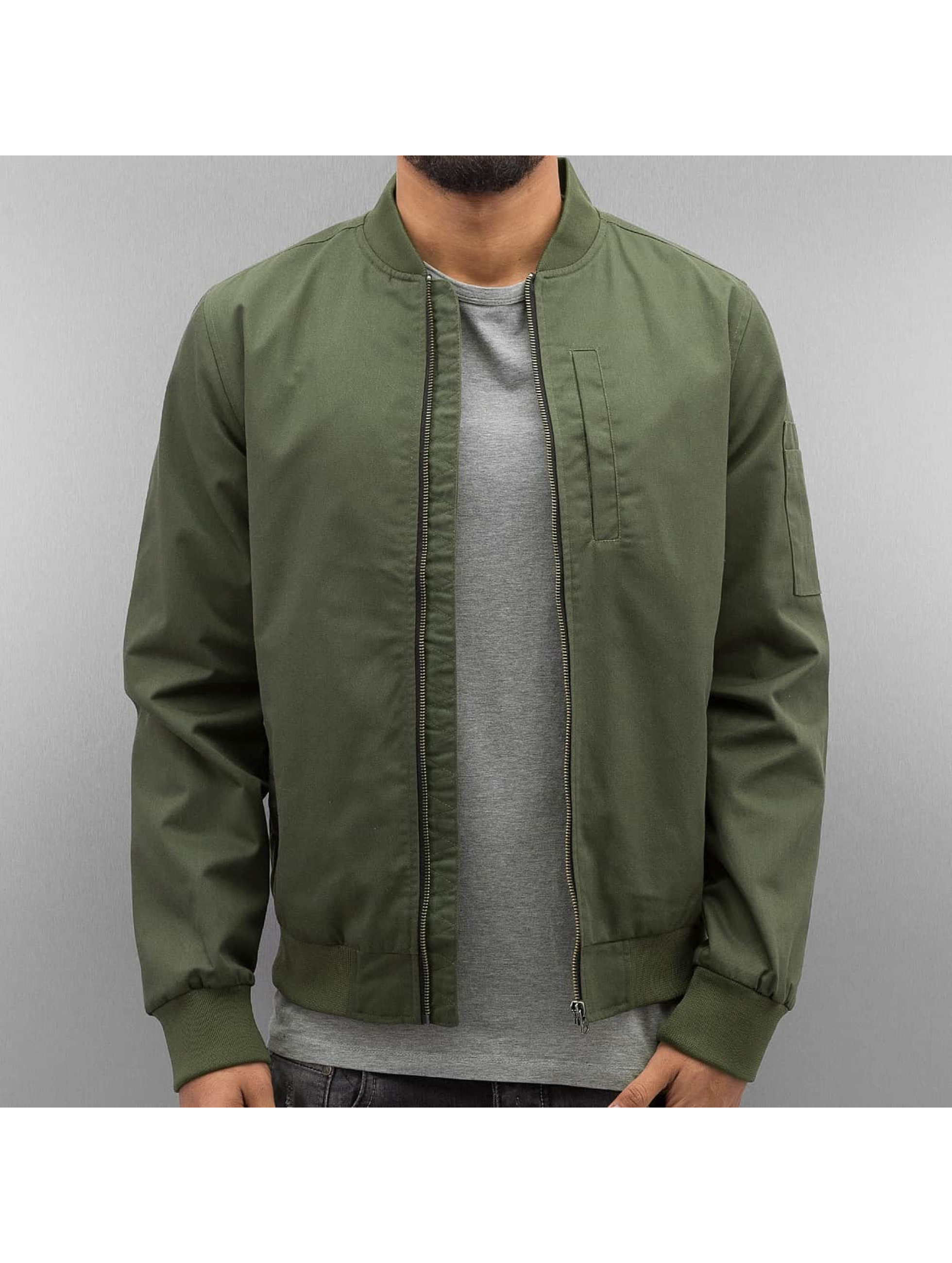 SHINE Original Bomber jacket Rex green