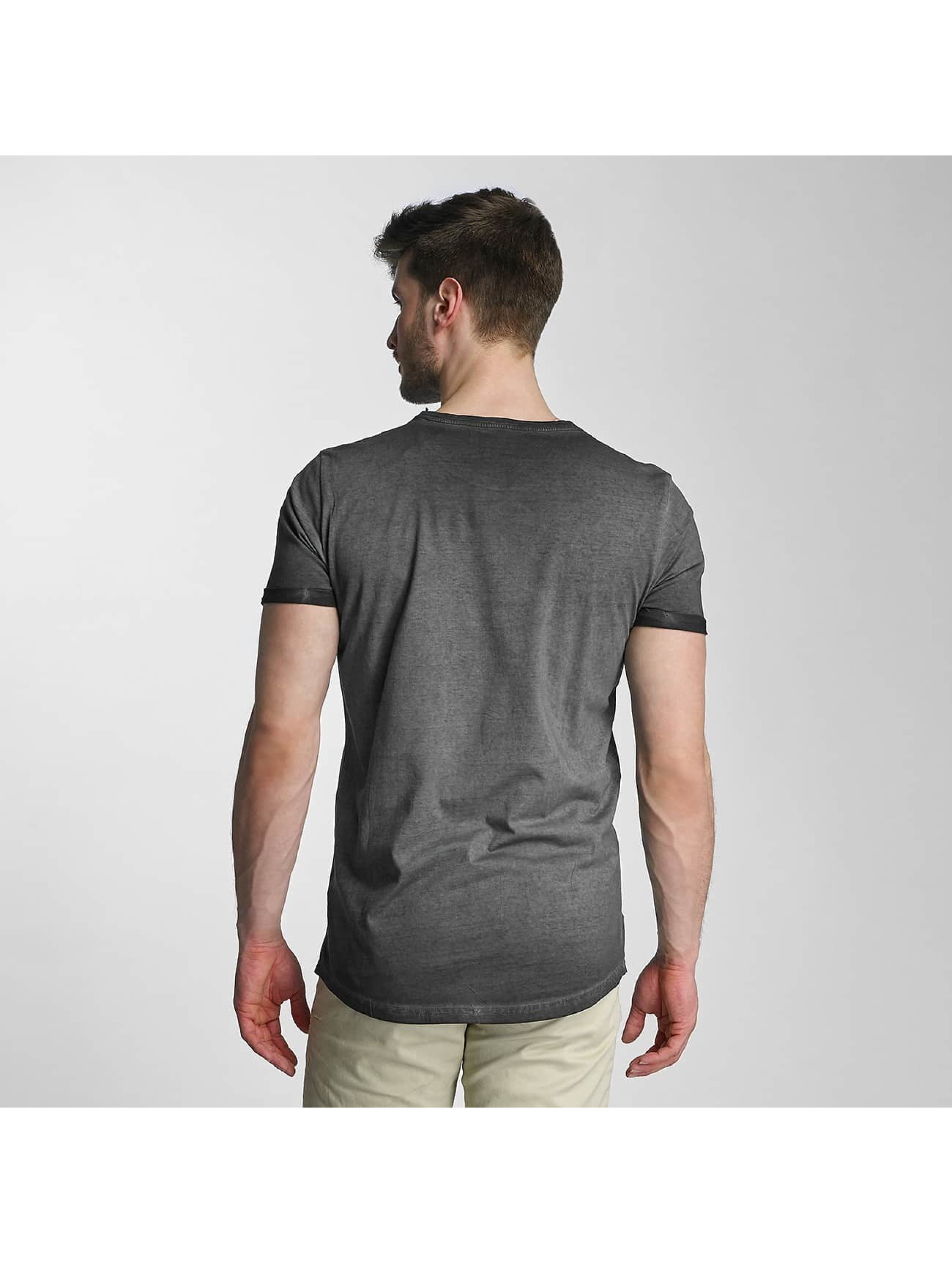 SHINE Original Camiseta Dirt Dye Wash negro