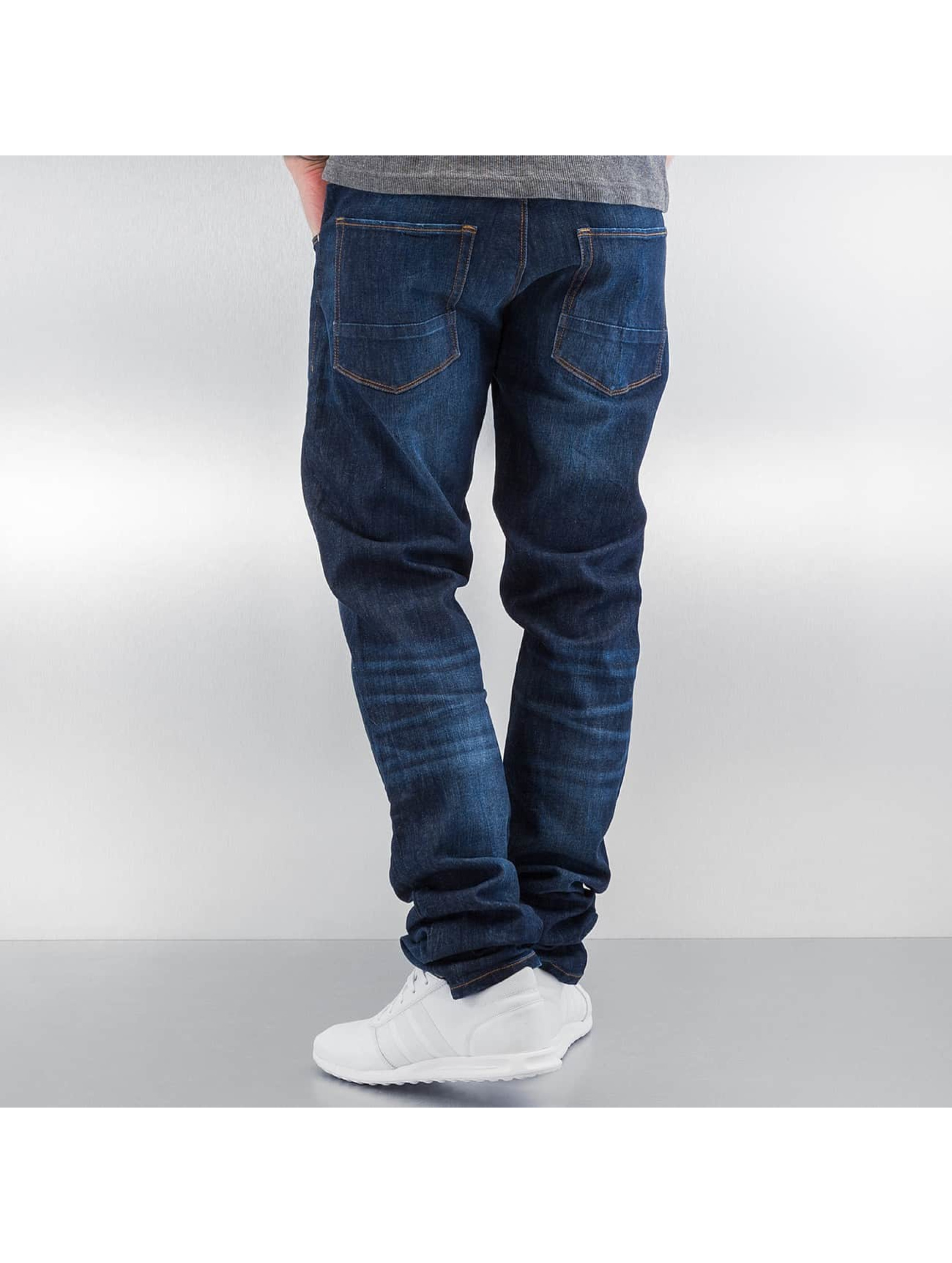 SHINE Original Dżinsy straight fit Slim niebieski