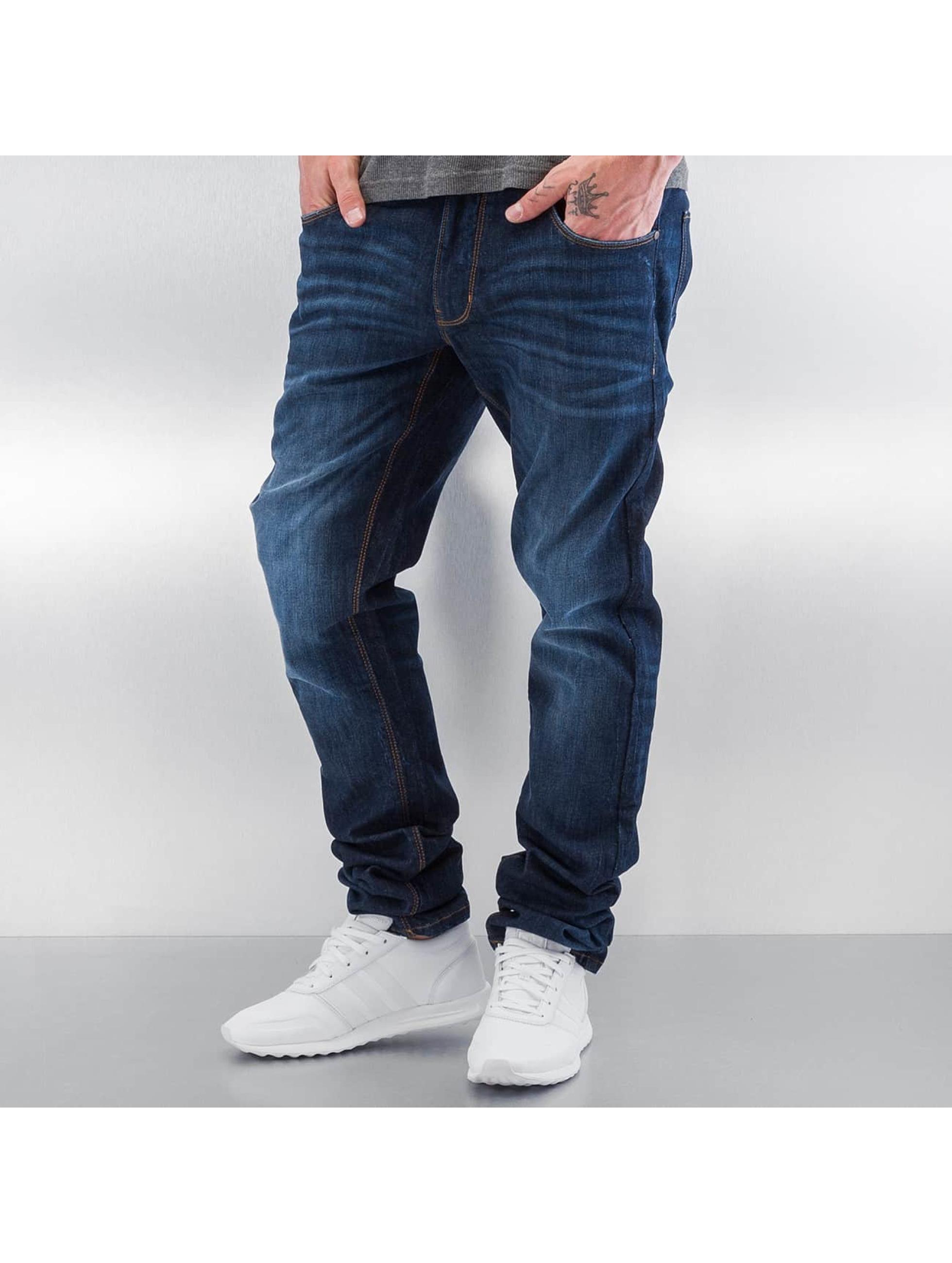 SHINE Original Jean coupe droite Slim bleu