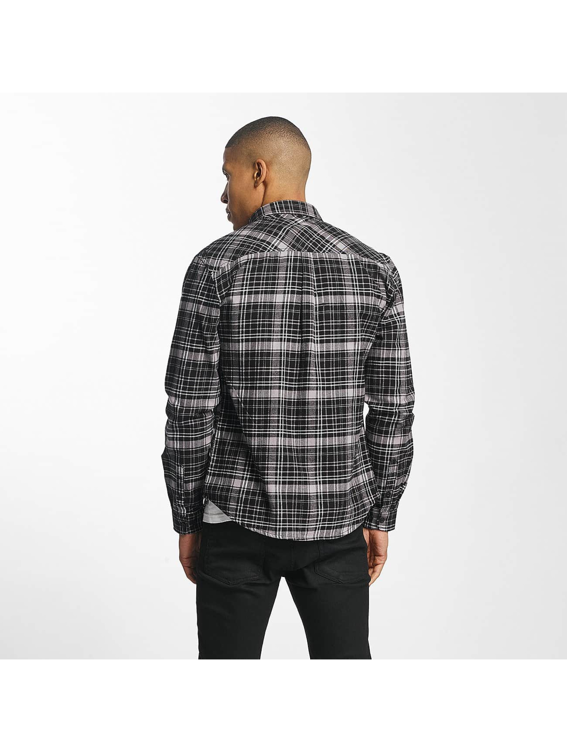 SHINE Original Koszule Luis Checked czarny