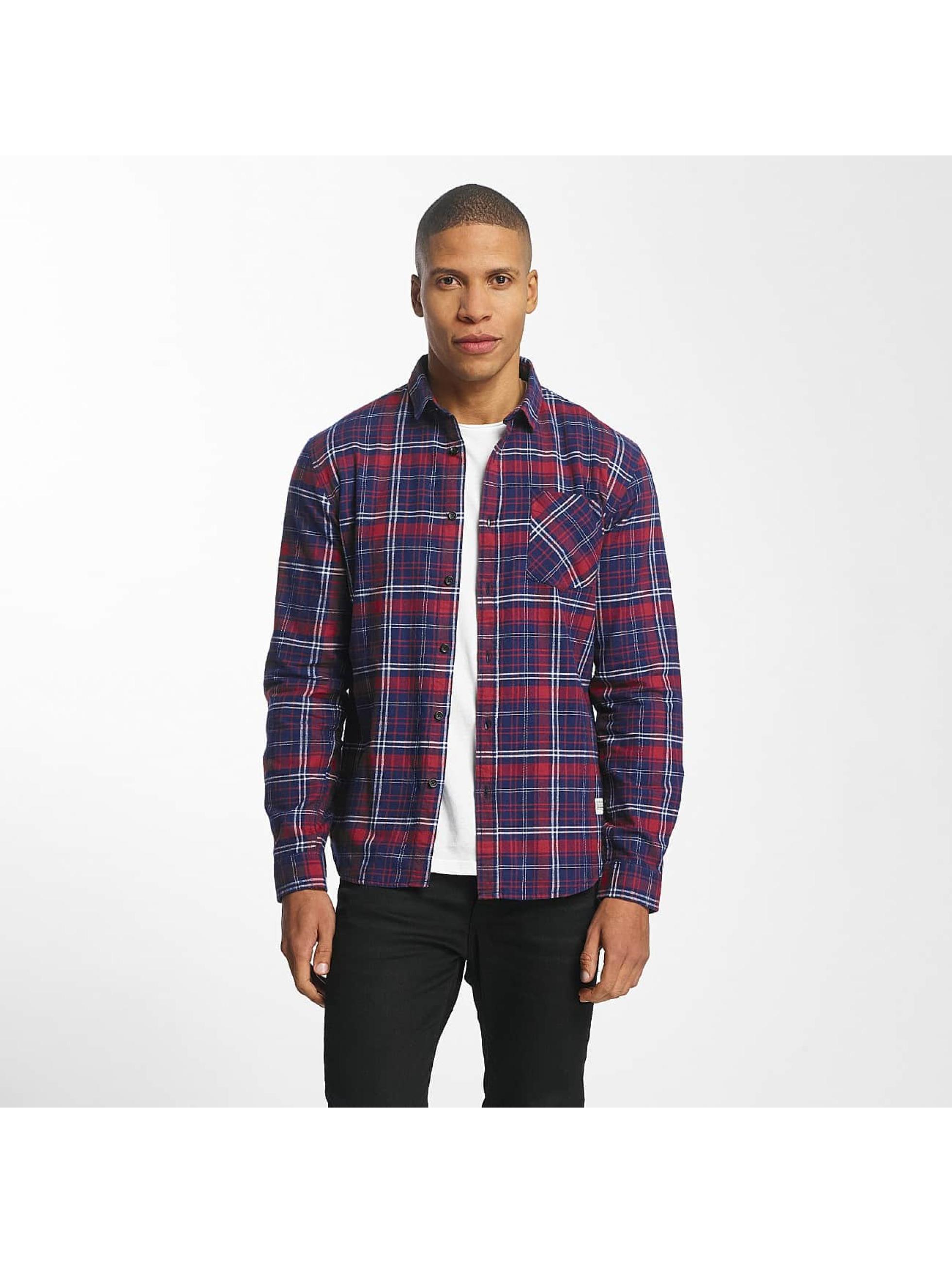 SHINE Original Koszule Luis Checked czerwony