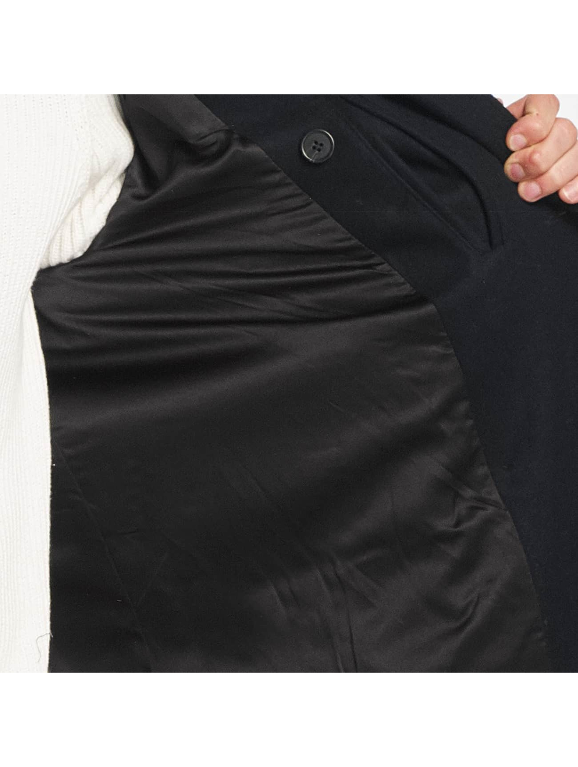 SHINE Original Manteau Button Row bleu