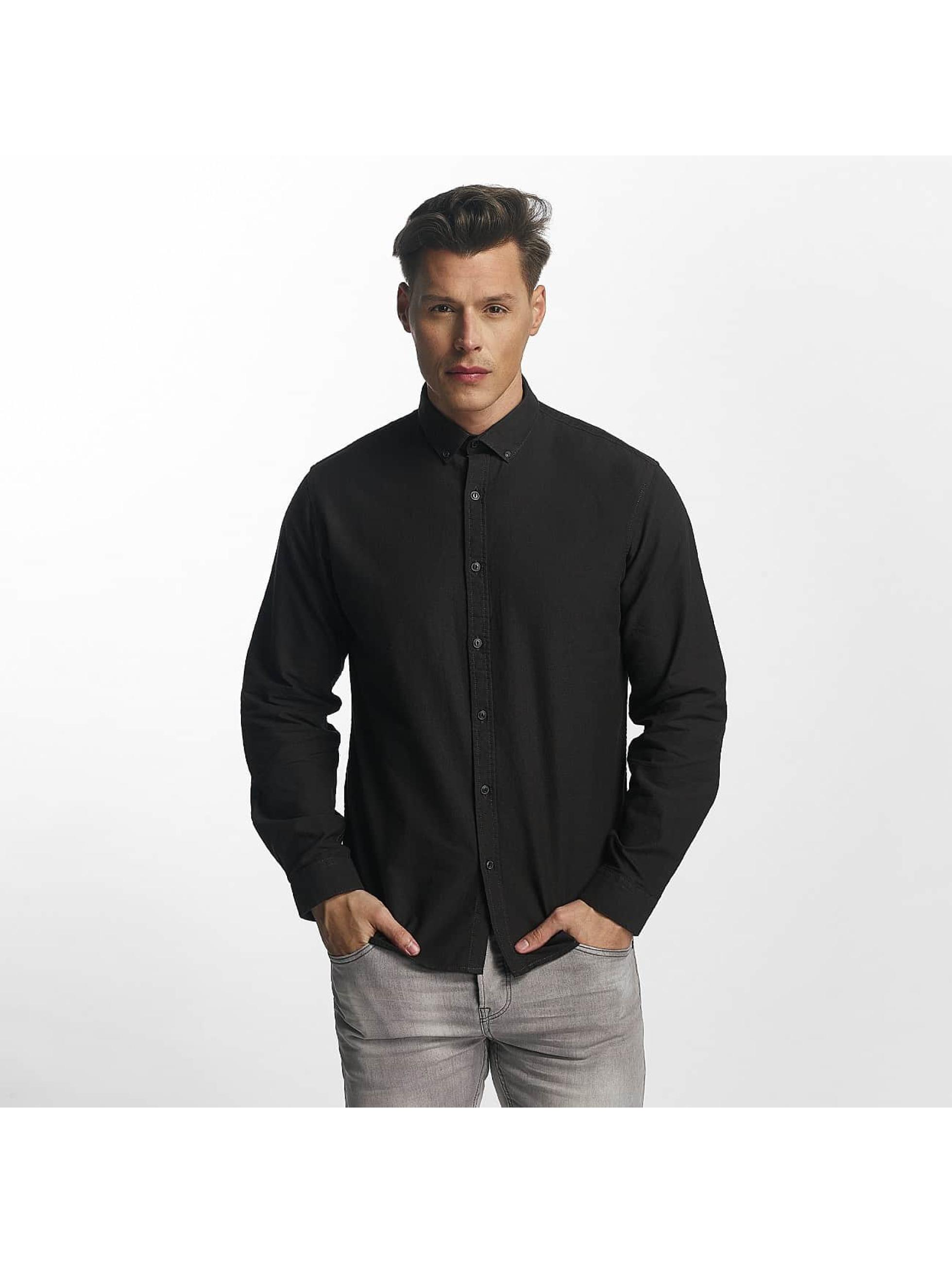 SHINE Original overhemd Oxford zwart