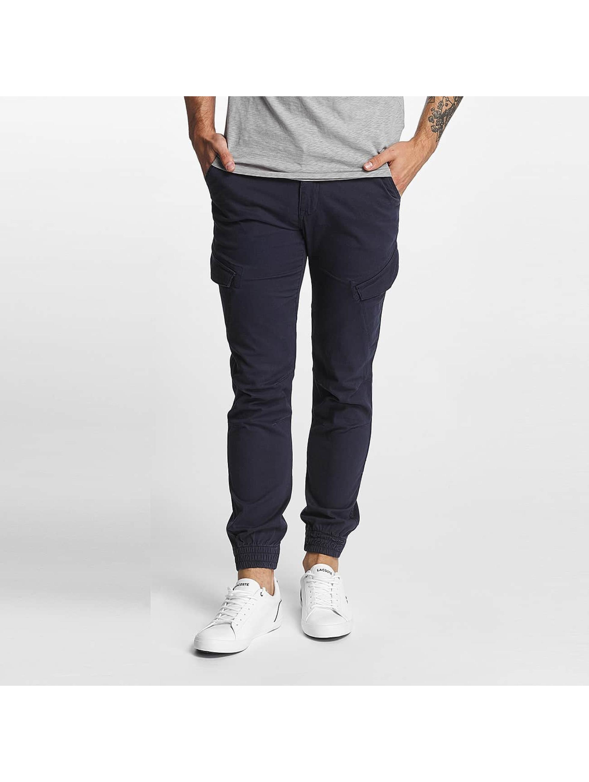 SHINE Original Pantalon cargo Slim bleu