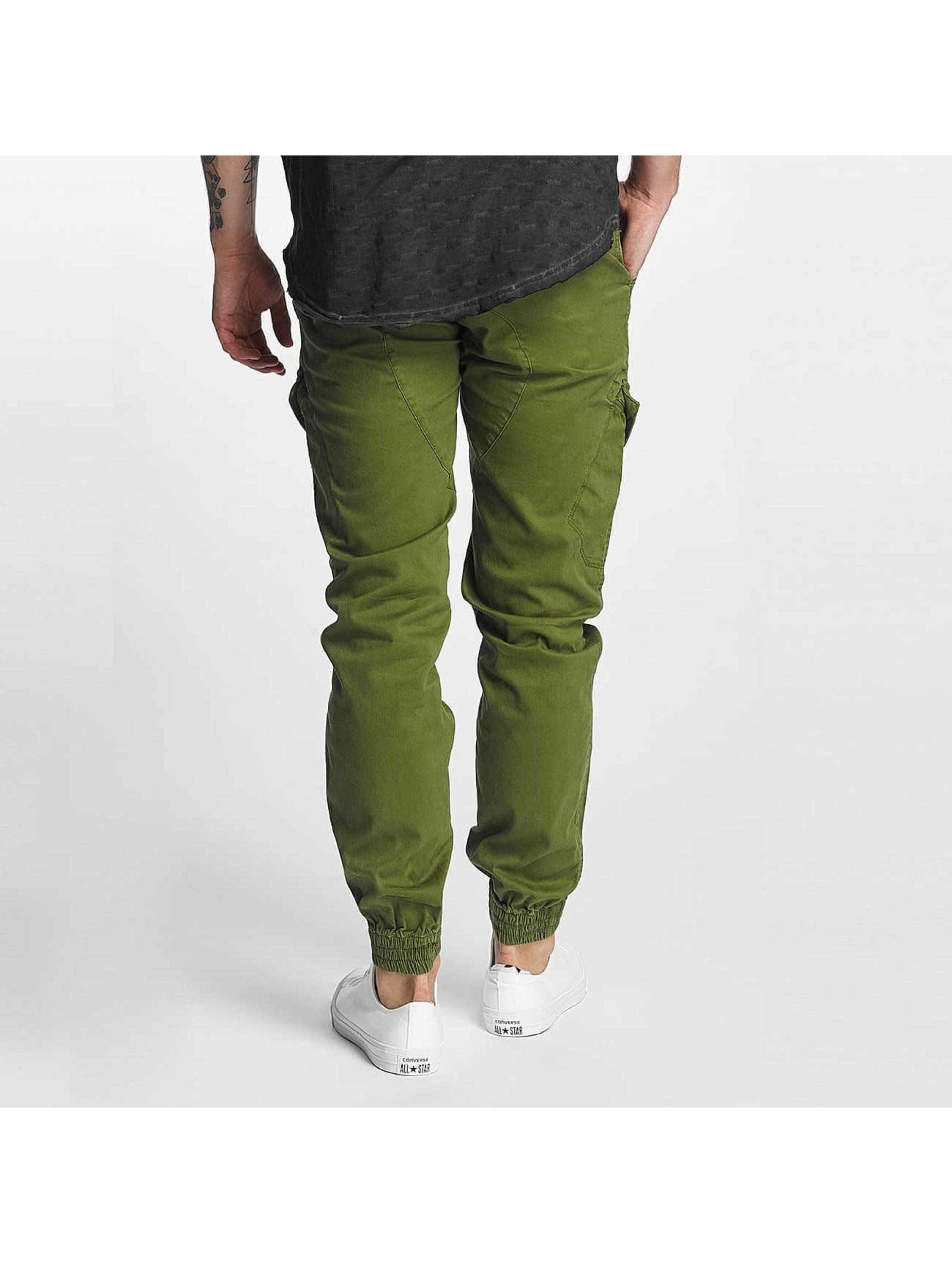 SHINE Original Reisitaskuhousut Slim vihreä