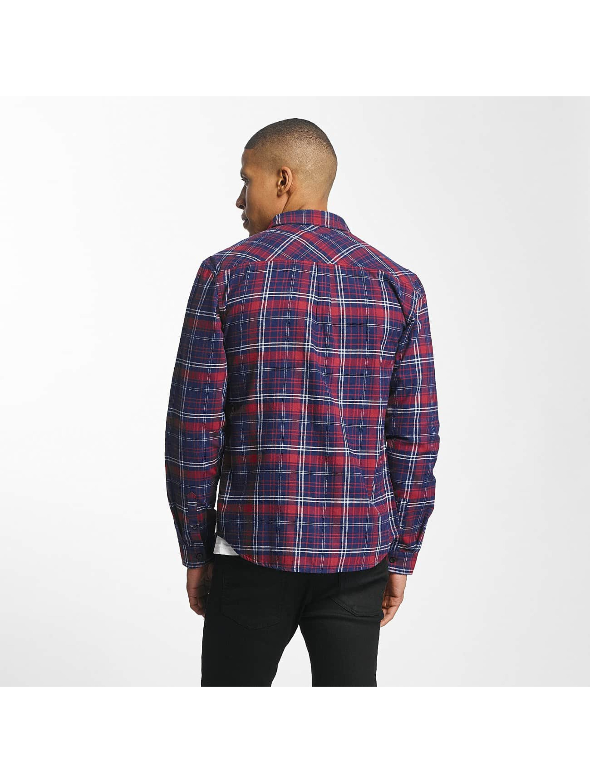 SHINE Original Shirt Luis Checked red