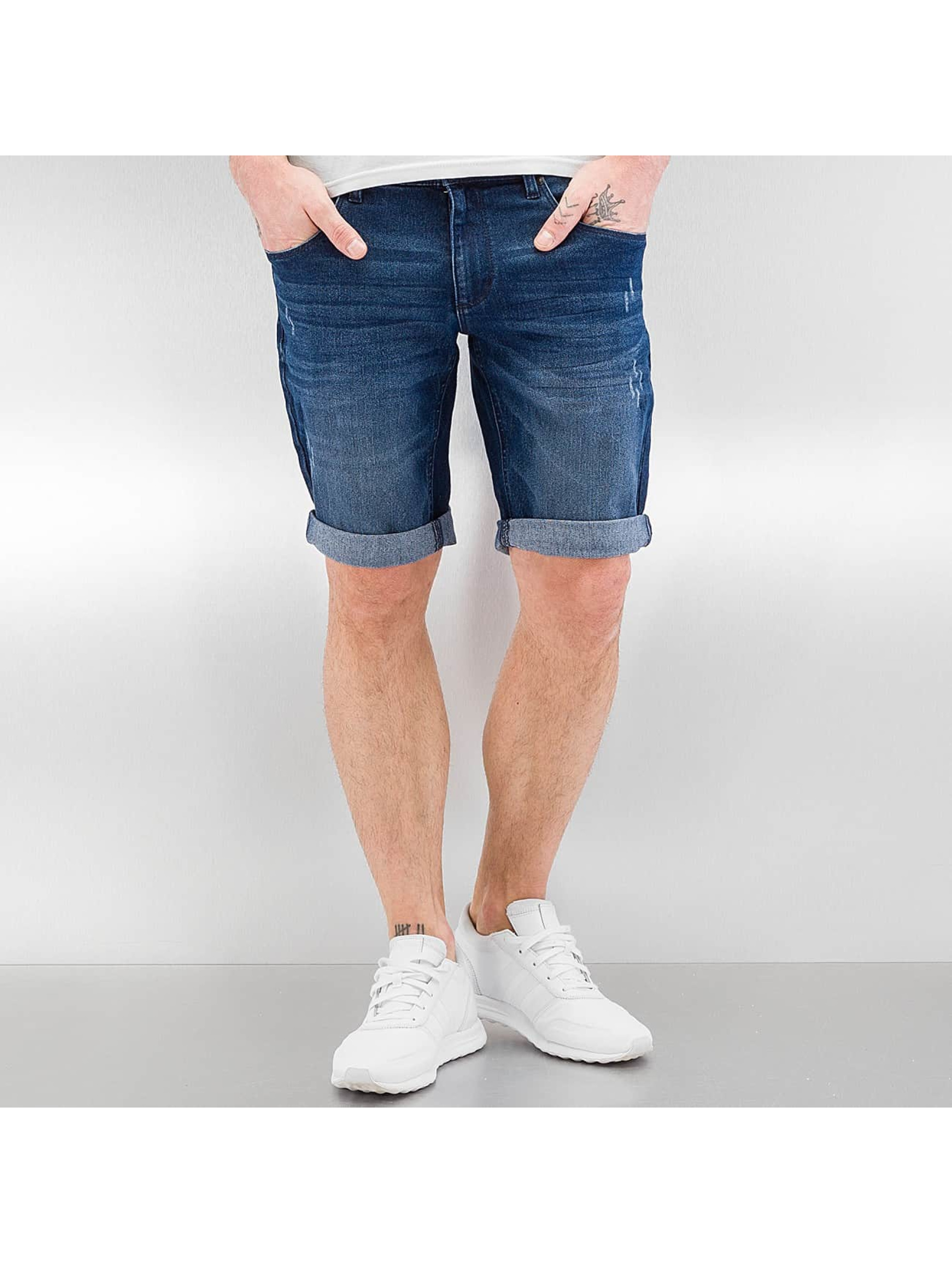 SHINE Original Pantalon / Shorts Basic en bleu