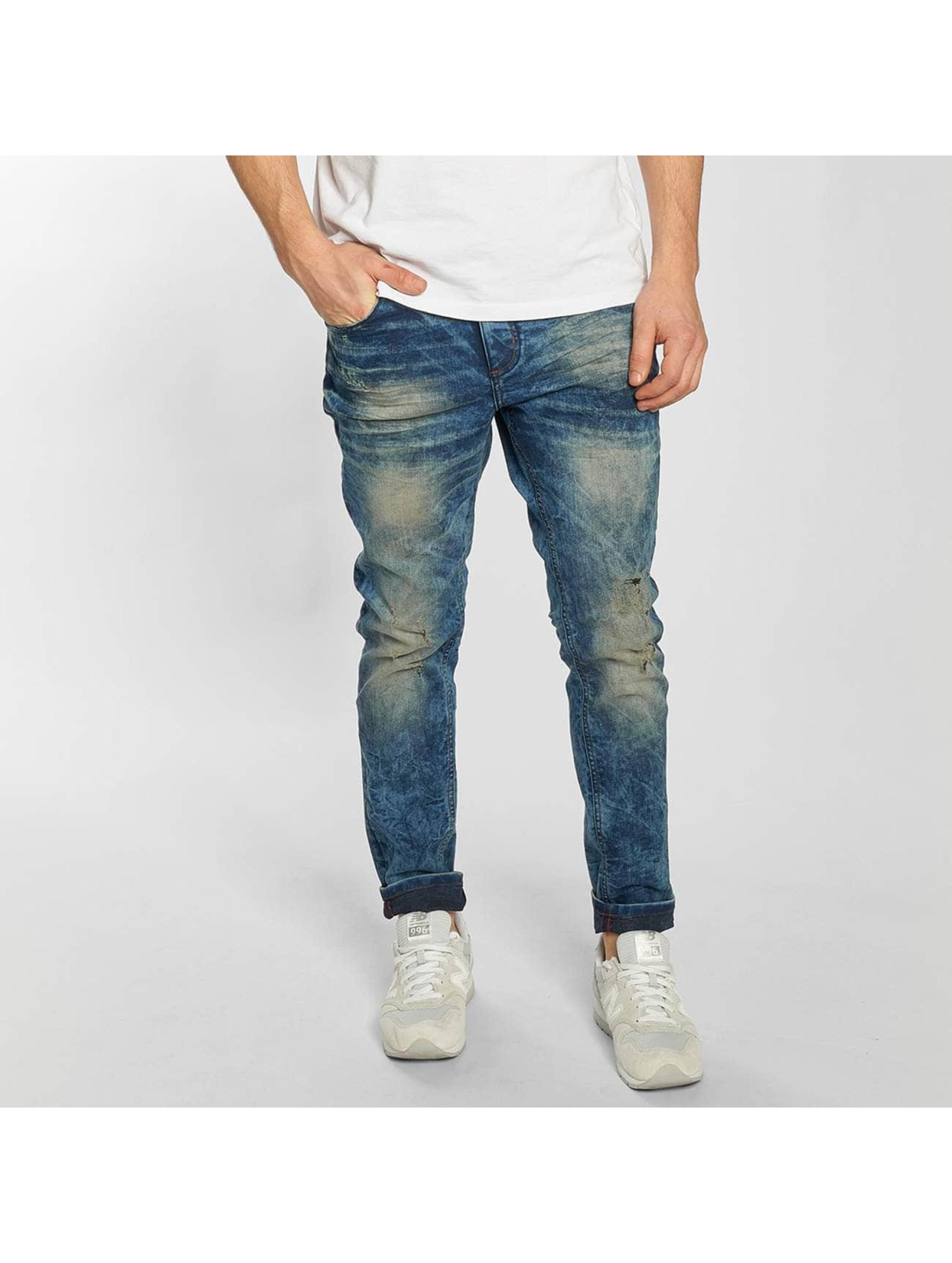 SHINE Original Skinny Jeans Drop Crotch blau