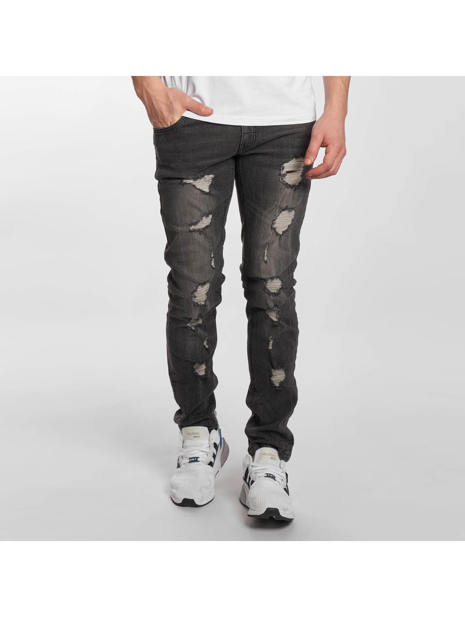 SHINE Original Skinny jeans Woody grå