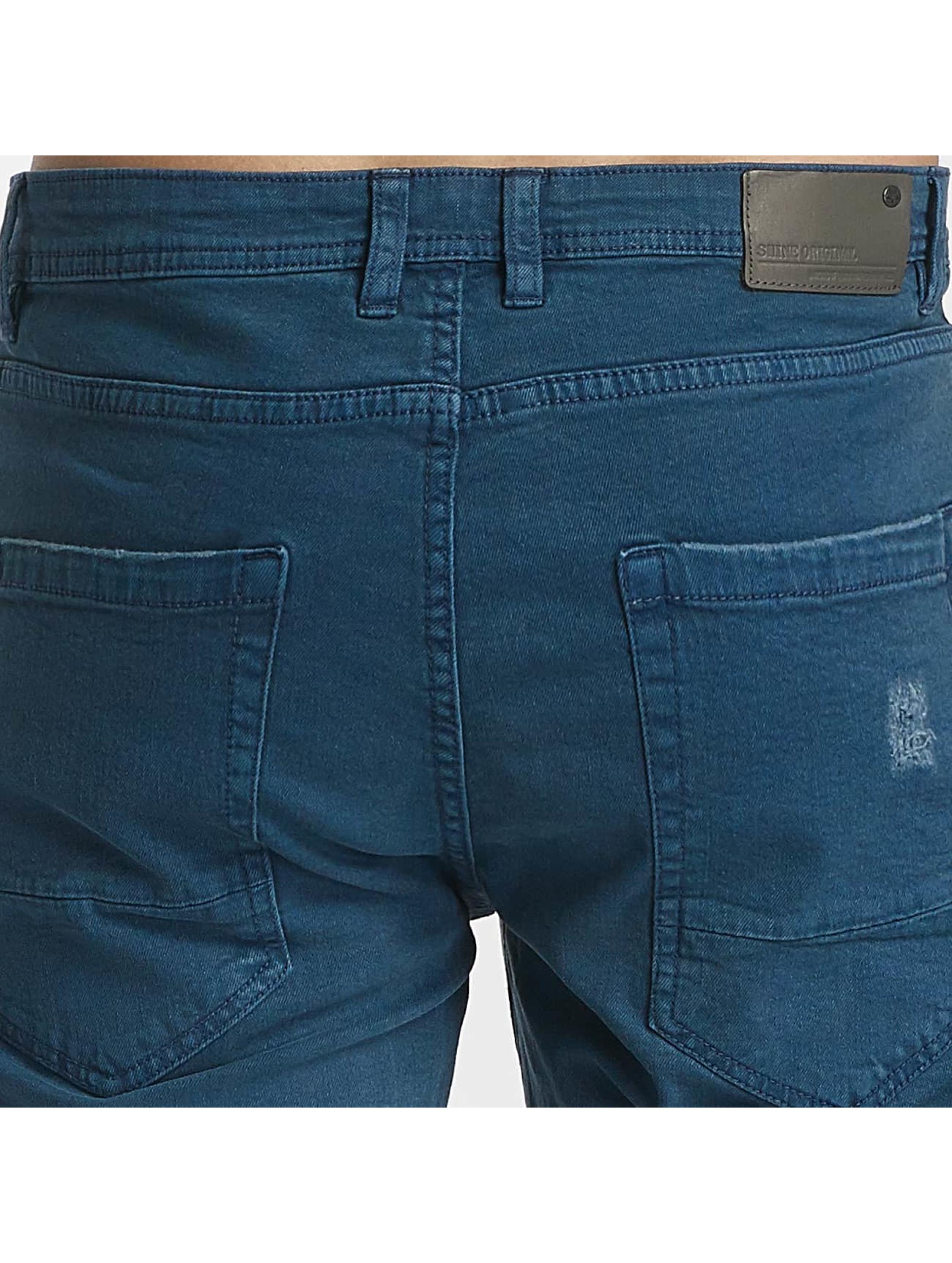 SHINE Original Straight Fit Jeans Wyatt blue