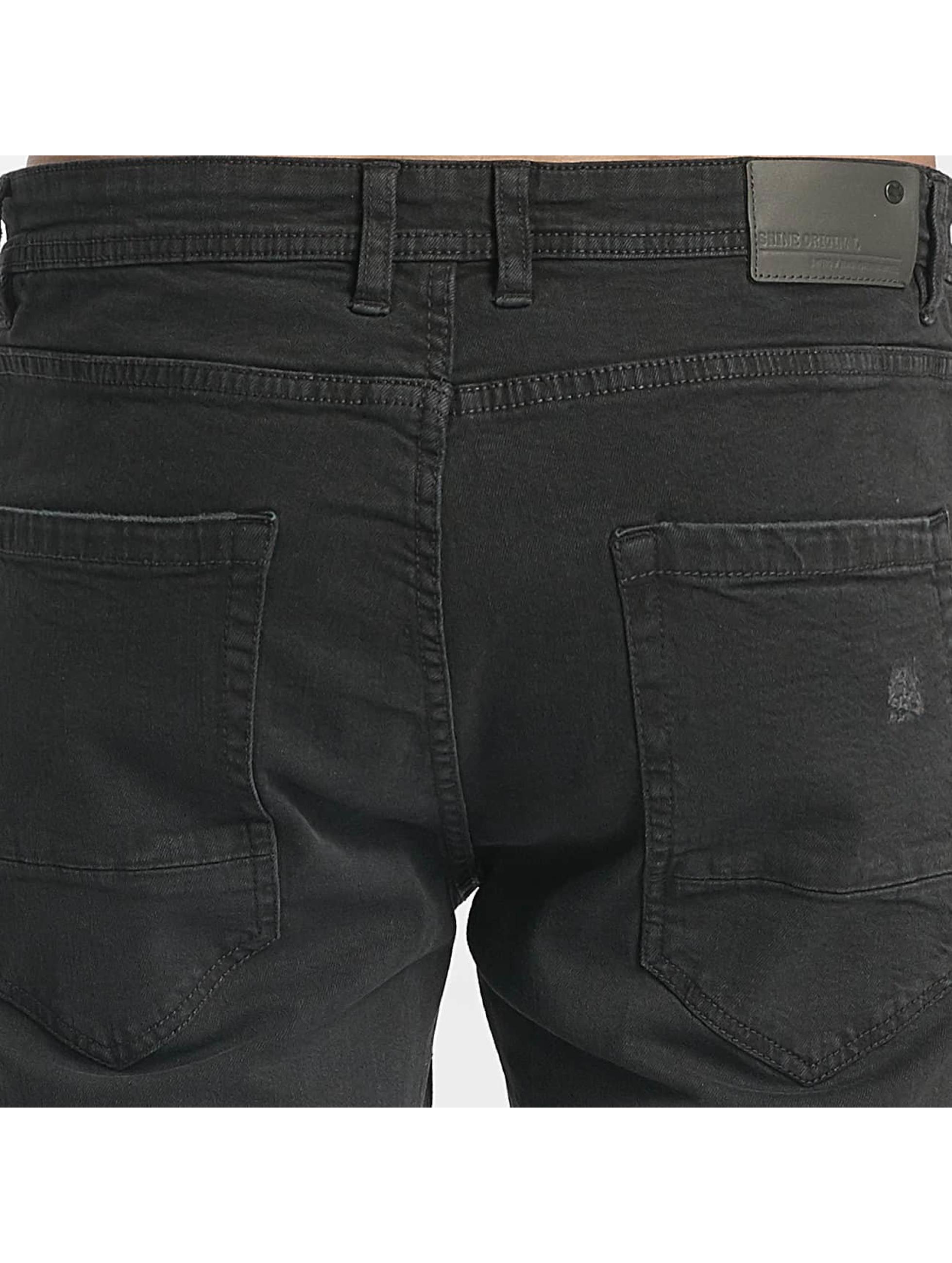 SHINE Original Straight Fit Jeans Wyatt sort
