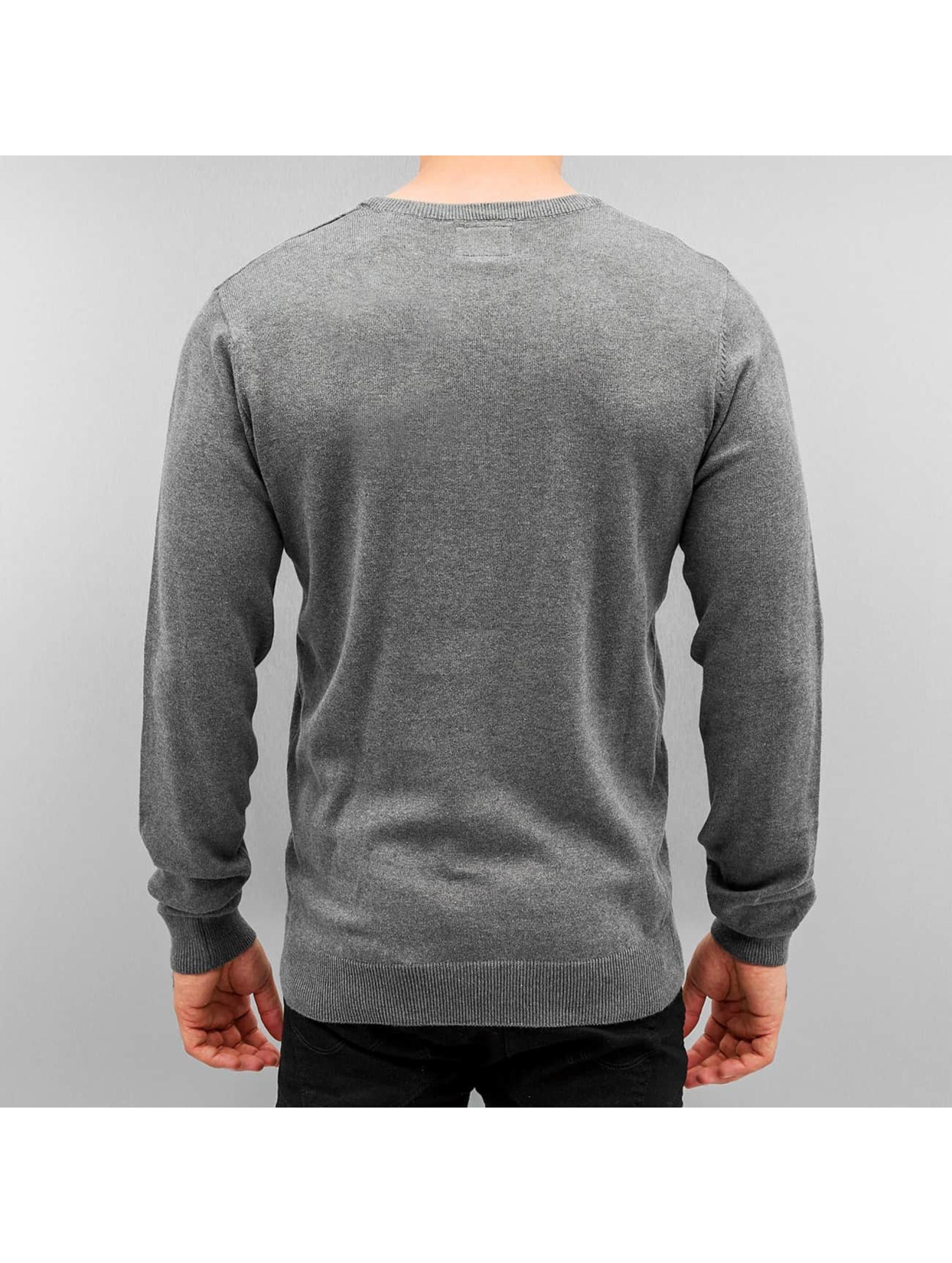 shine original basic gris homme sweat pull shine original acheter pas cher haut 254866. Black Bedroom Furniture Sets. Home Design Ideas