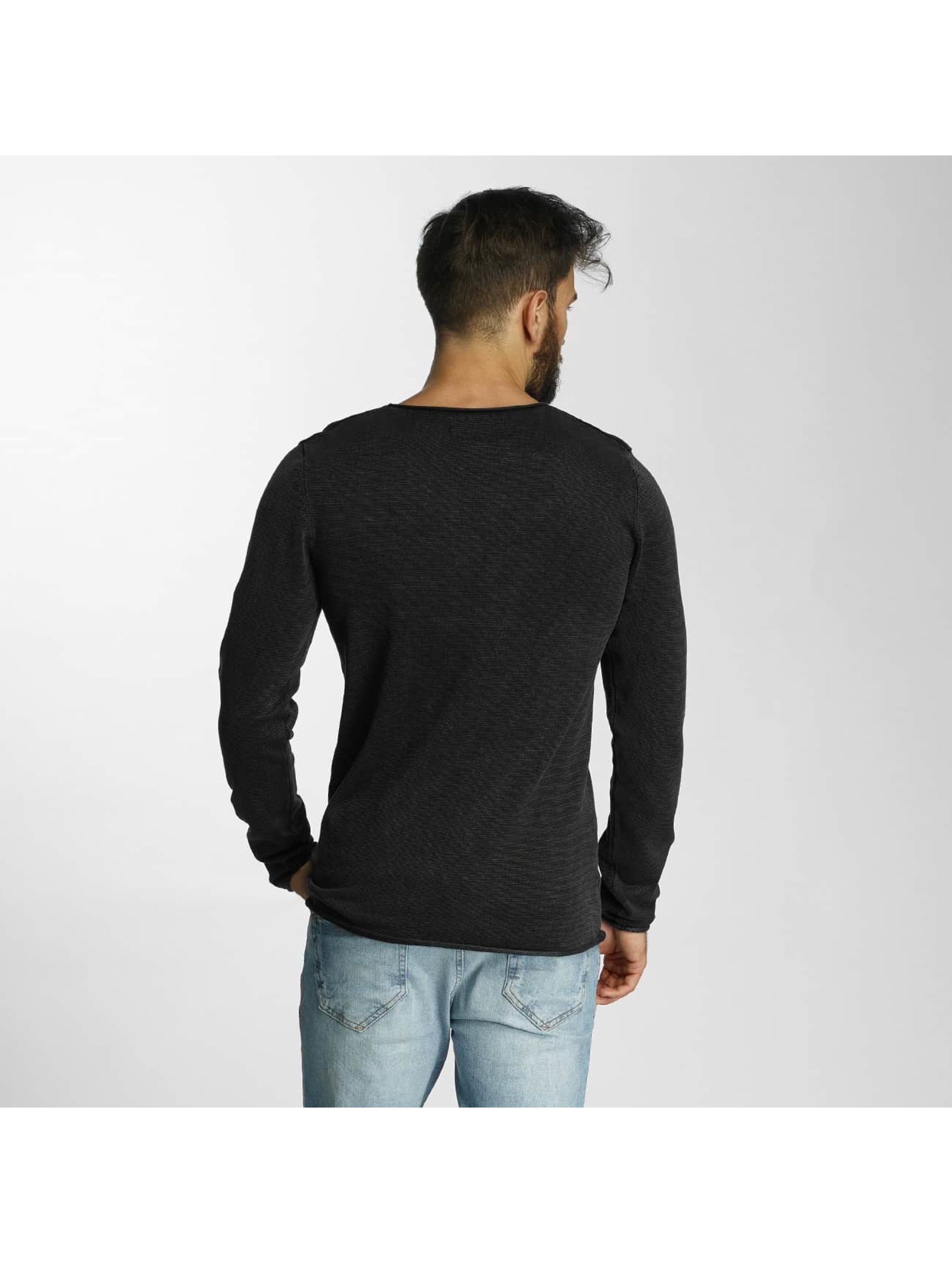 SHINE Original Sweat & Pull Acid Wash Roll Edge noir