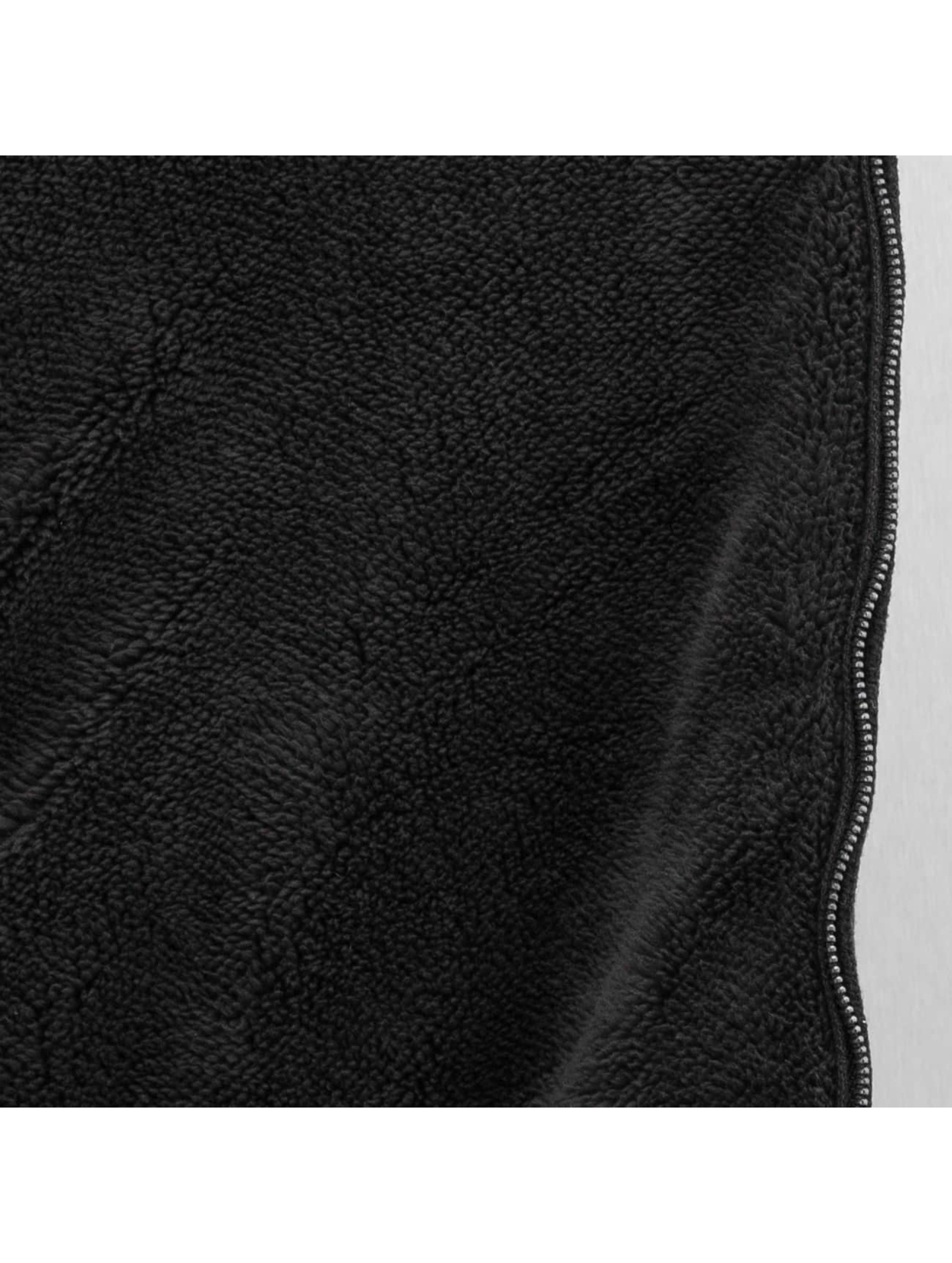 SHINE Original Sweat capuche zippé Boa noir