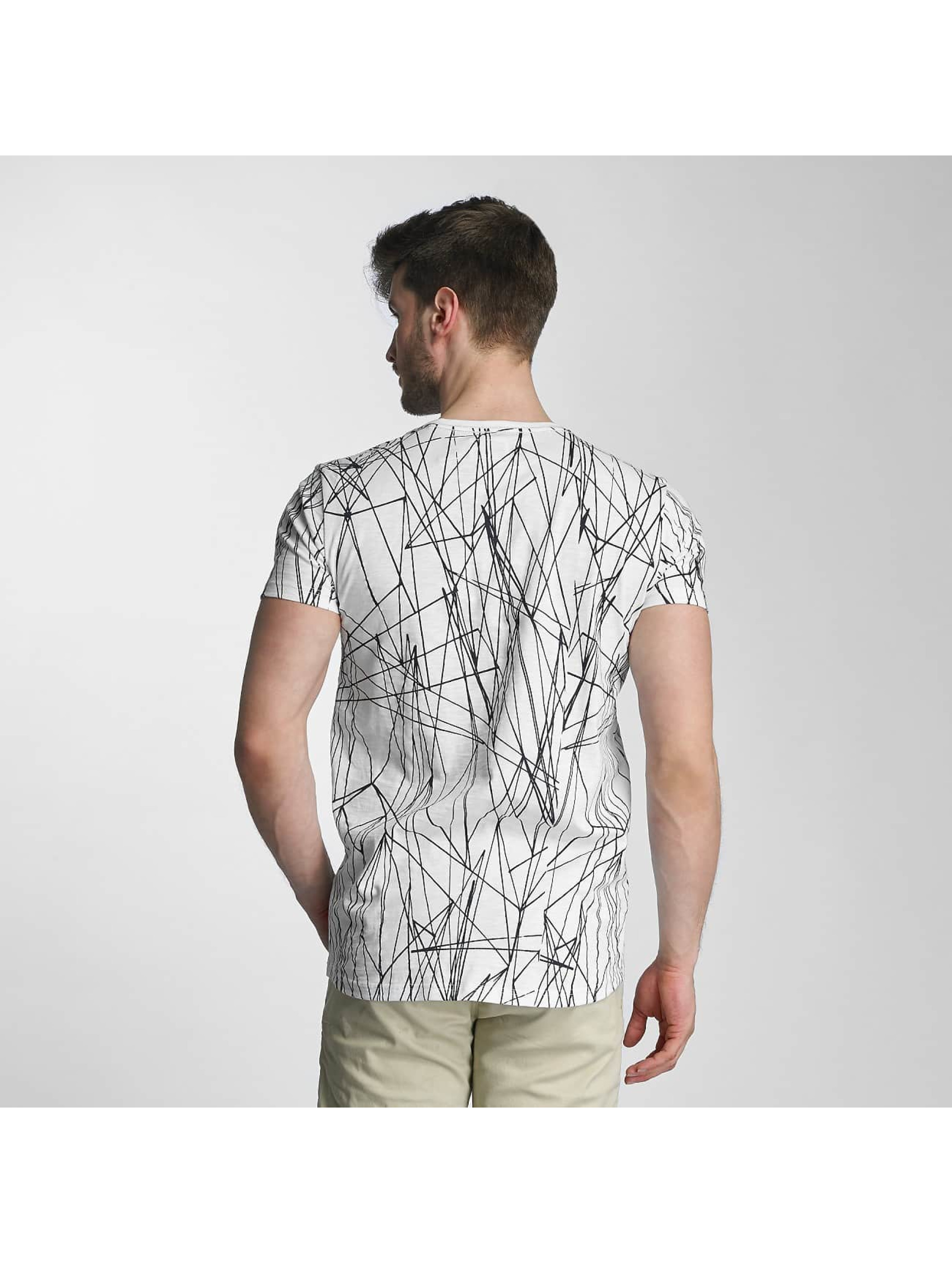 SHINE Original T-Shirt Long Oversize Jarrod blanc