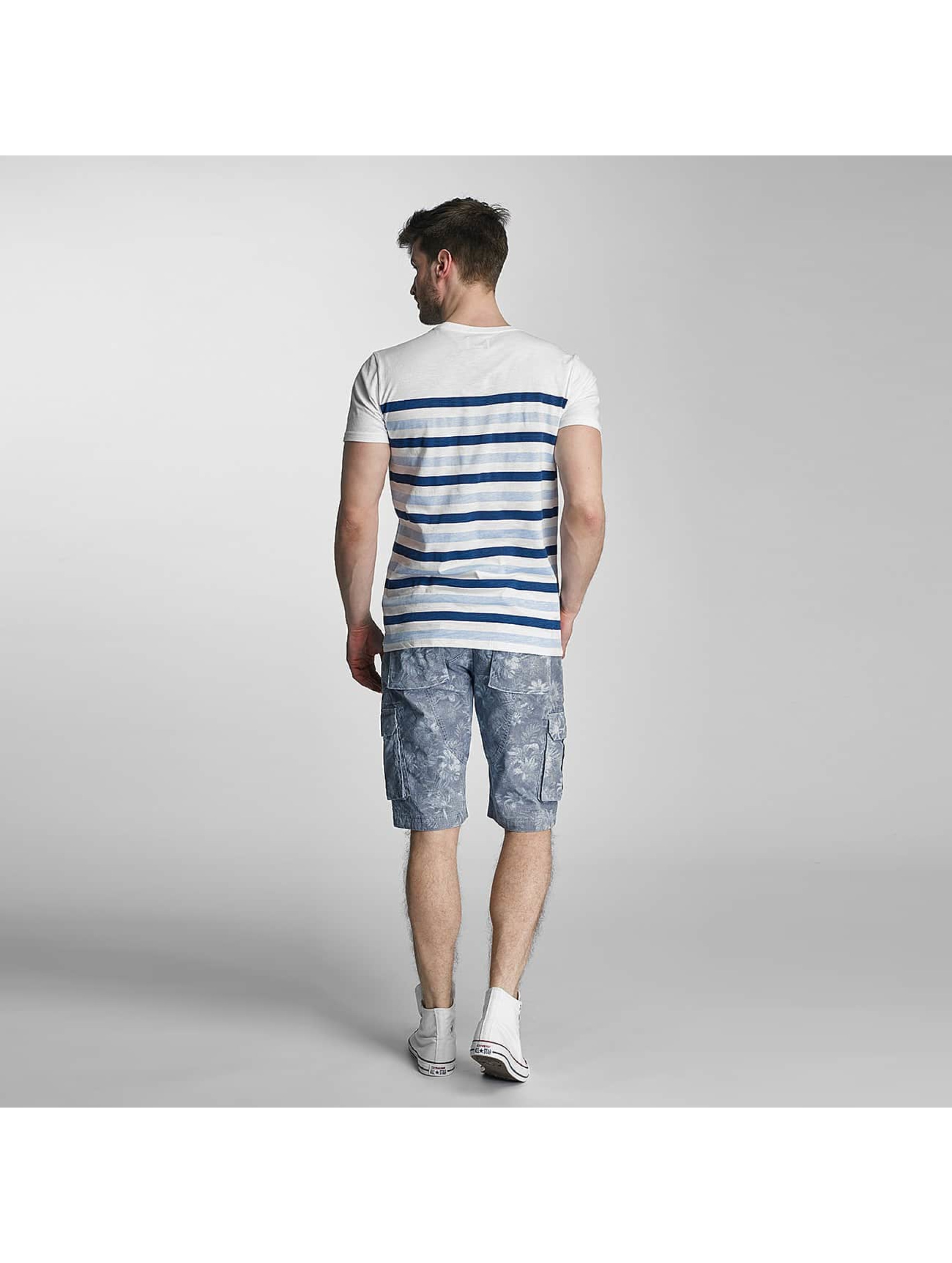 SHINE Original T-Shirt Striped bleu