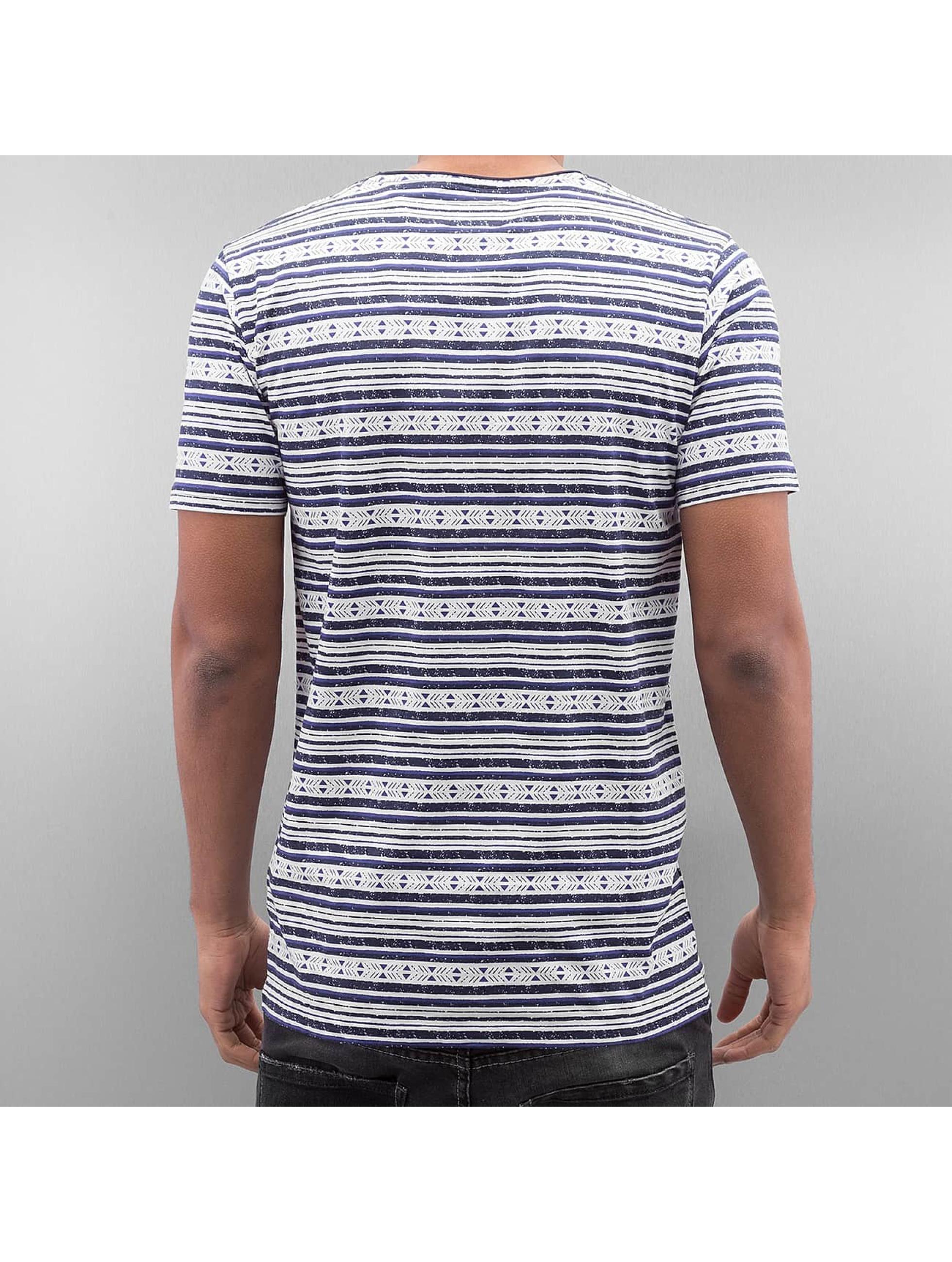 SHINE Original T-Shirt Stripes blue