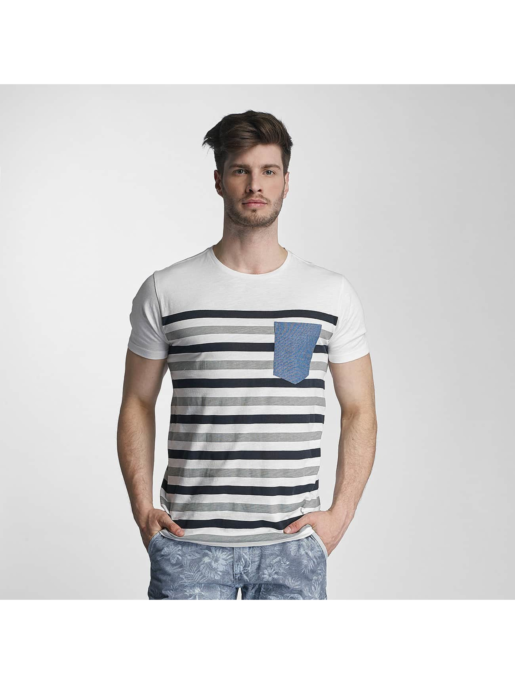 SHINE Original T-Shirt Striped grau
