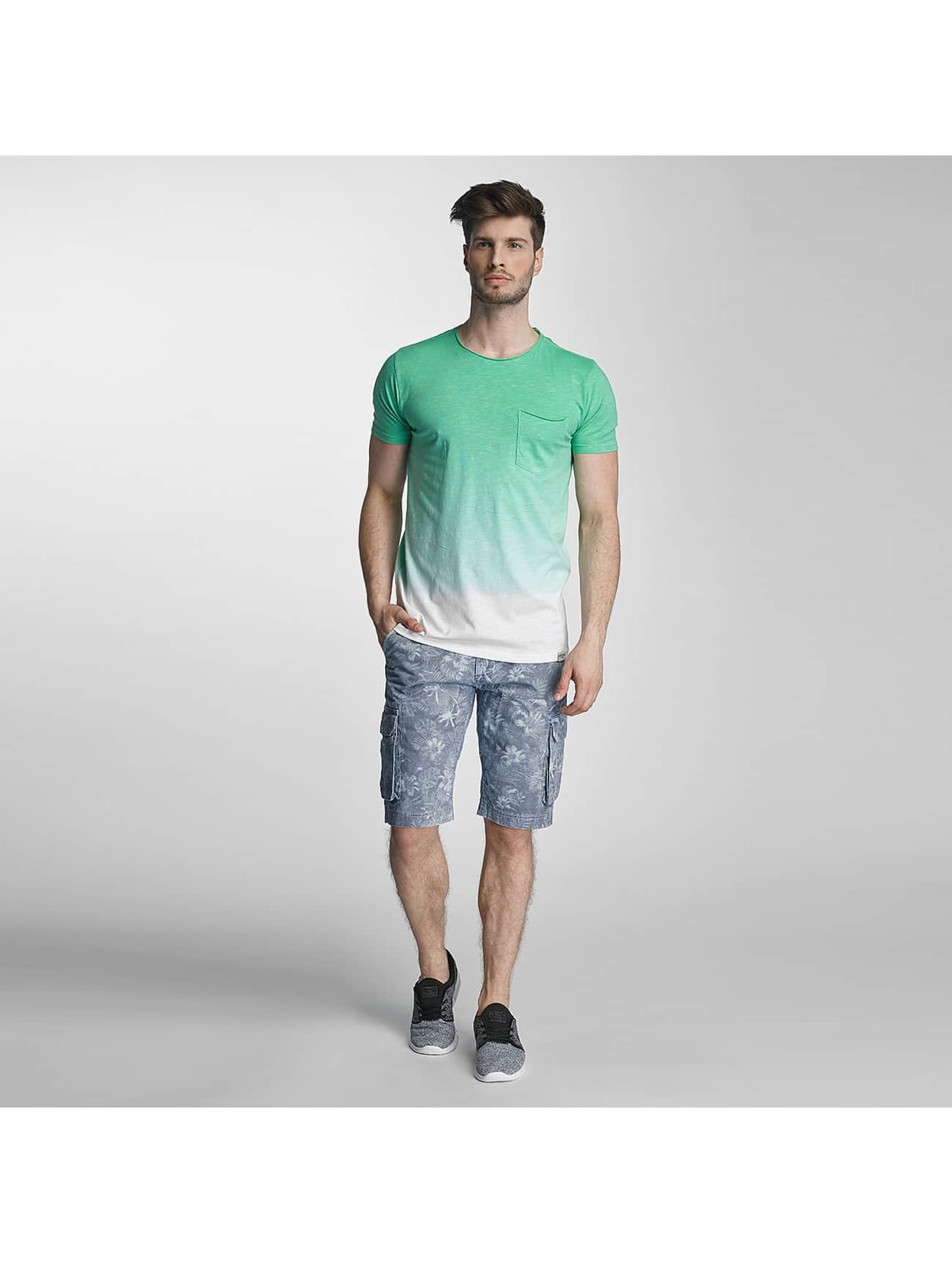 SHINE Original T-Shirt Dip Dyed green