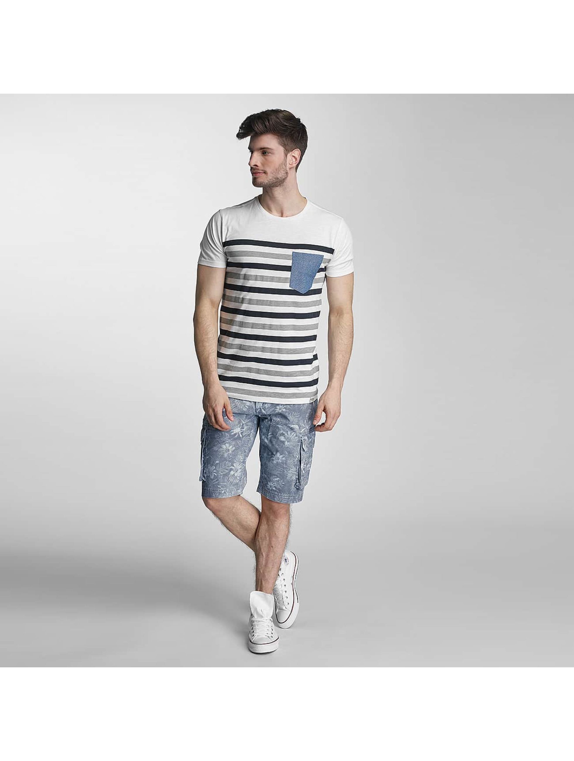 SHINE Original T-Shirt Striped grey