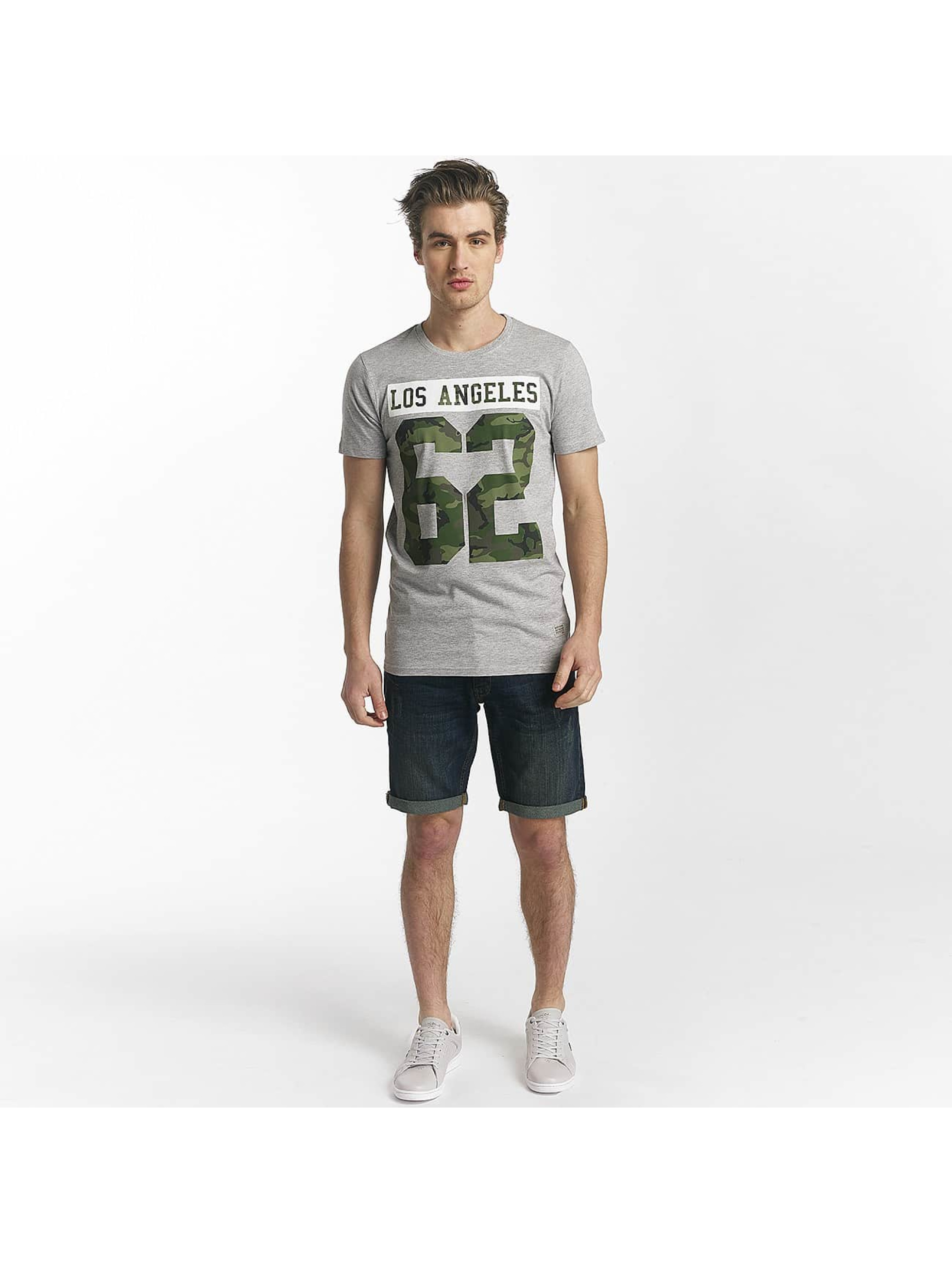 SHINE Original T-Shirt Buster Varsity Print grey