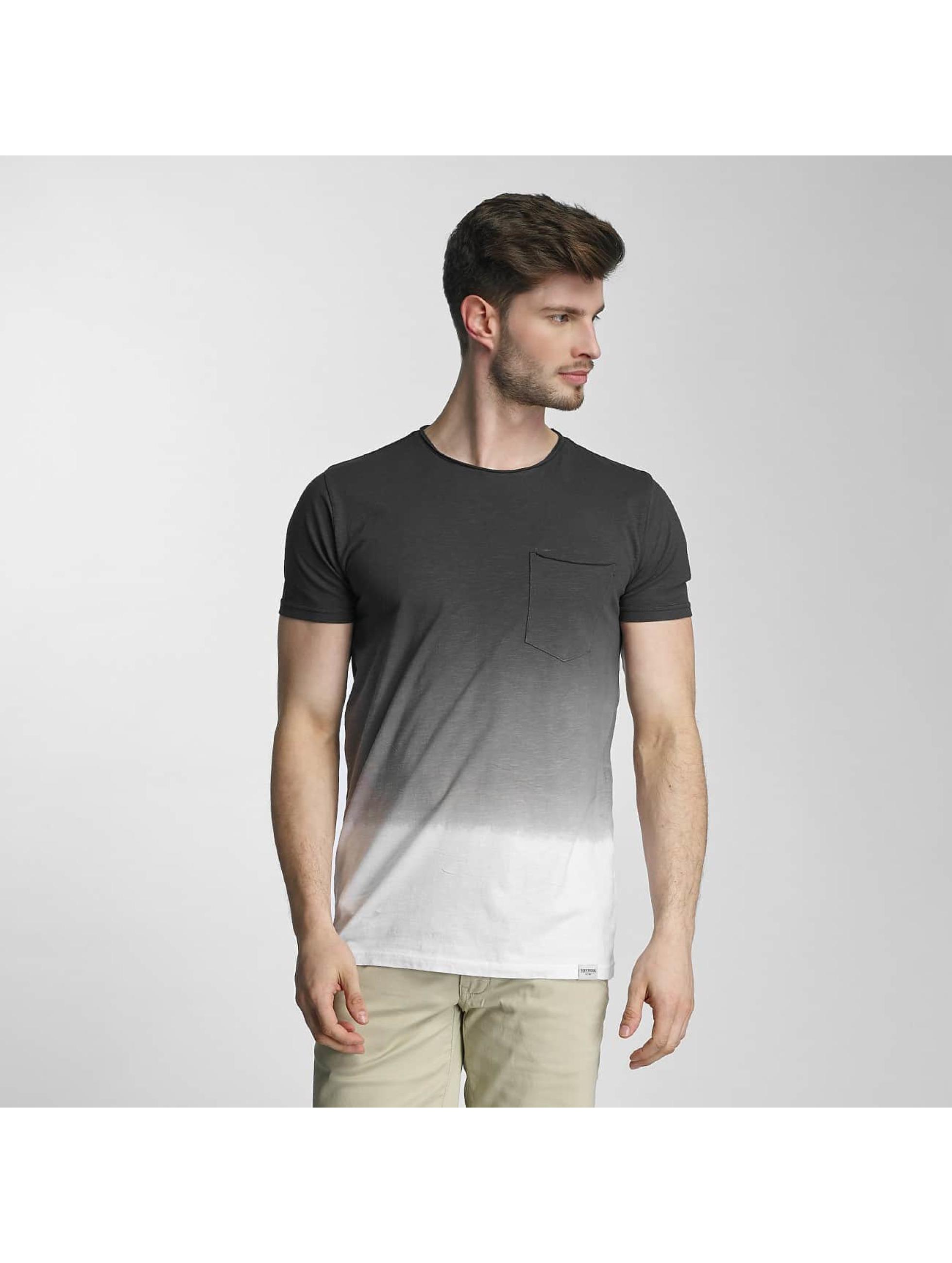 SHINE Original T-shirt Dip Dyed grigio