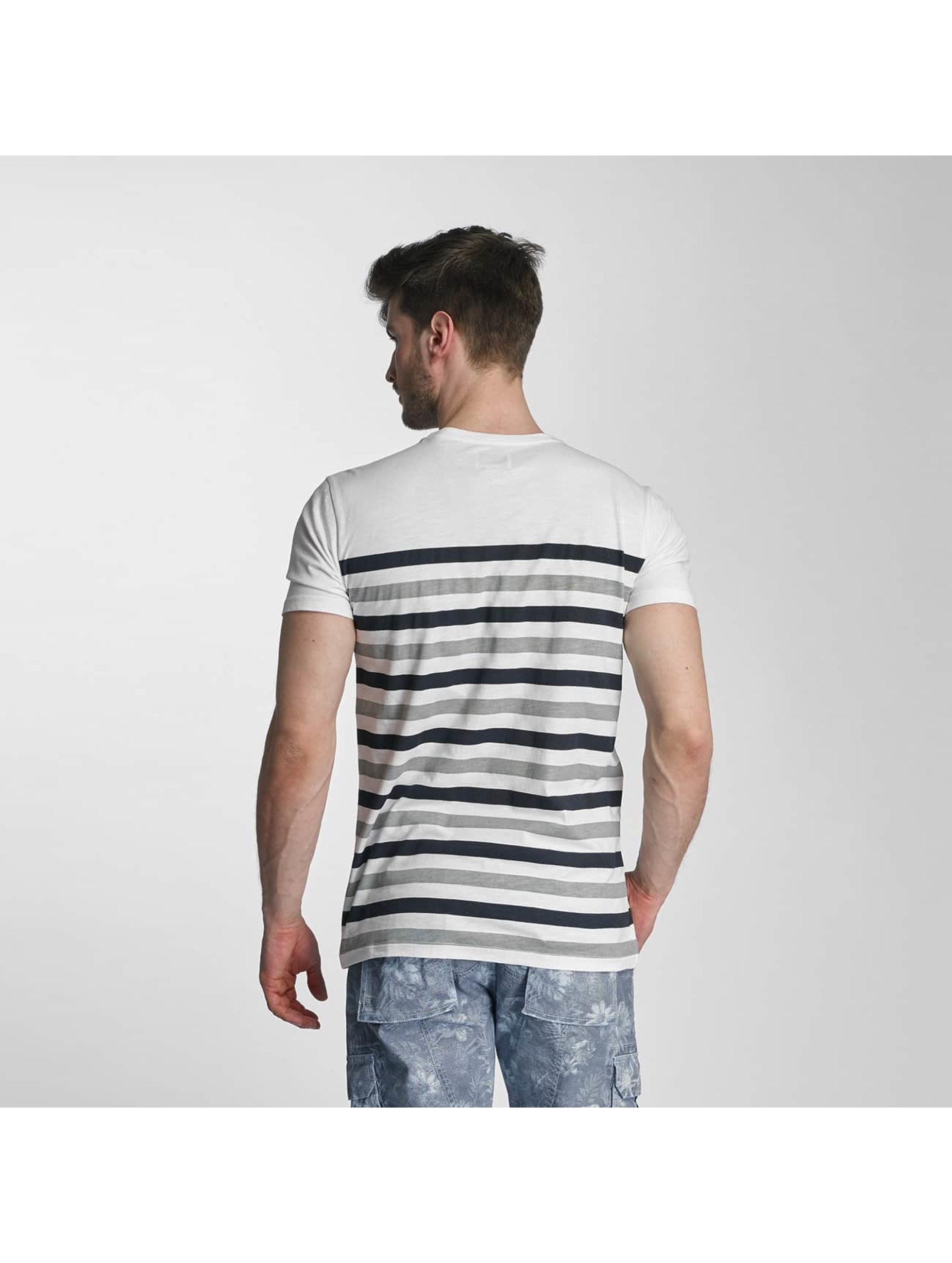 SHINE Original t-shirt Striped grijs