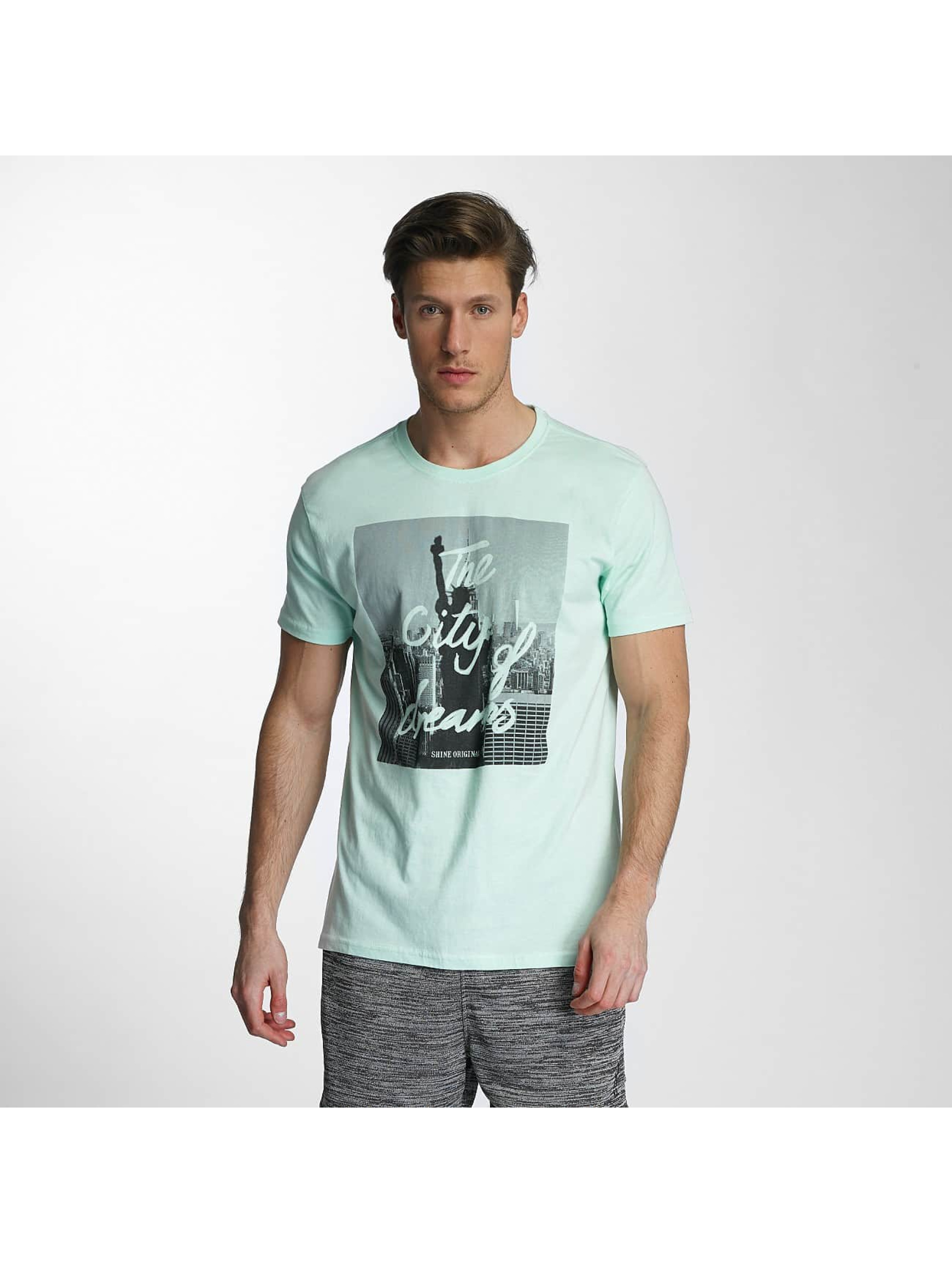 SHINE Original t-shirt City Lane groen