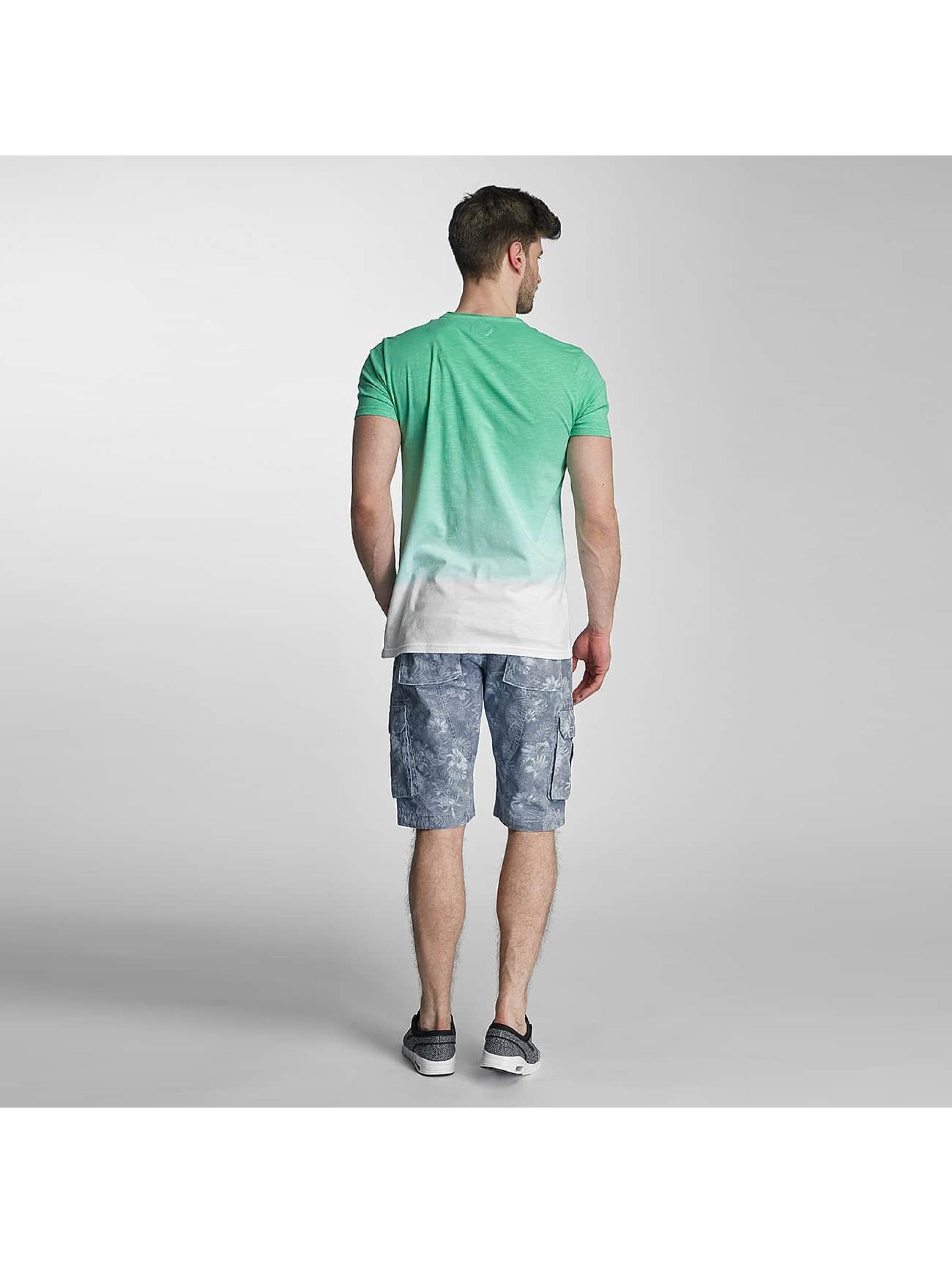 SHINE Original T-Shirt Dip Dyed grün