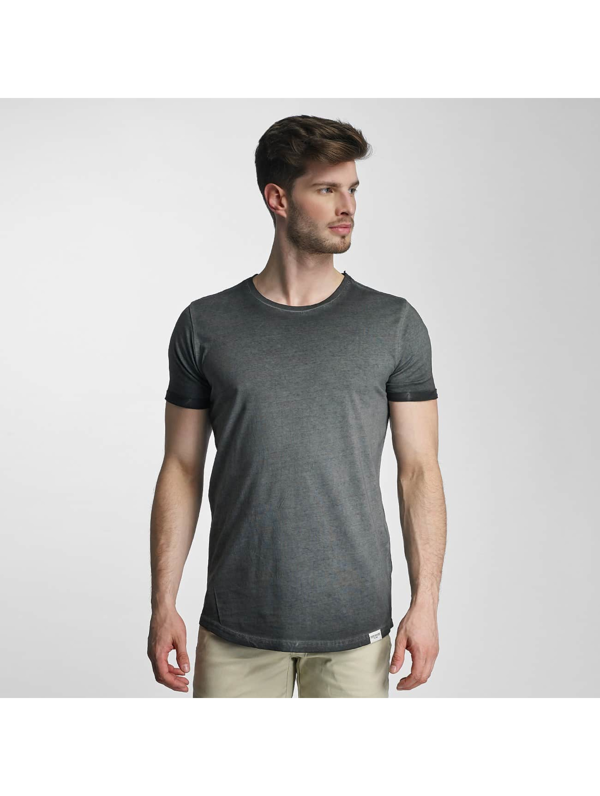 SHINE Original T-shirt Dirt Dye Wash nero