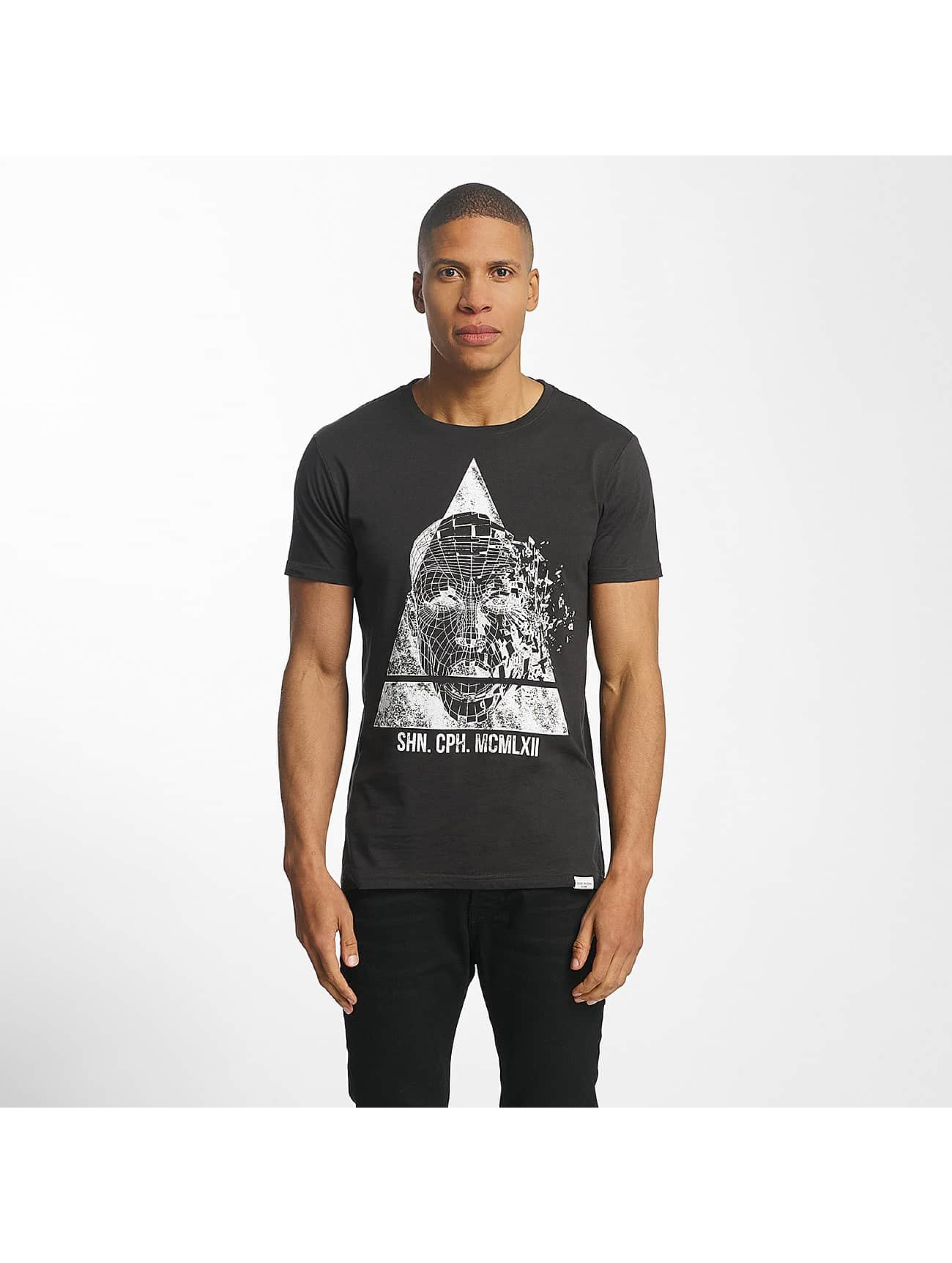 SHINE Original T-Shirt August Graphic noir