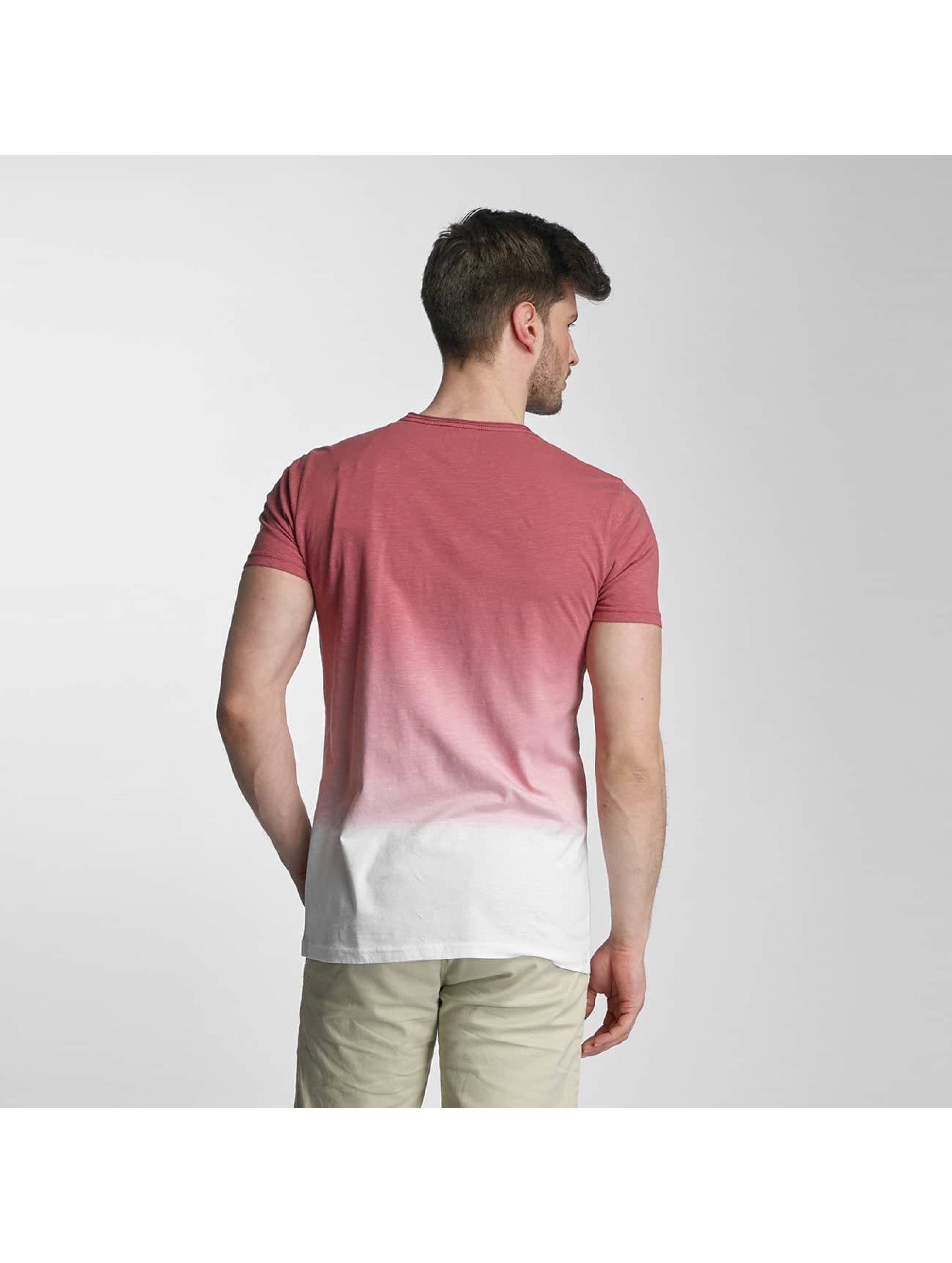 SHINE Original T-Shirt Dip Dyed rosa