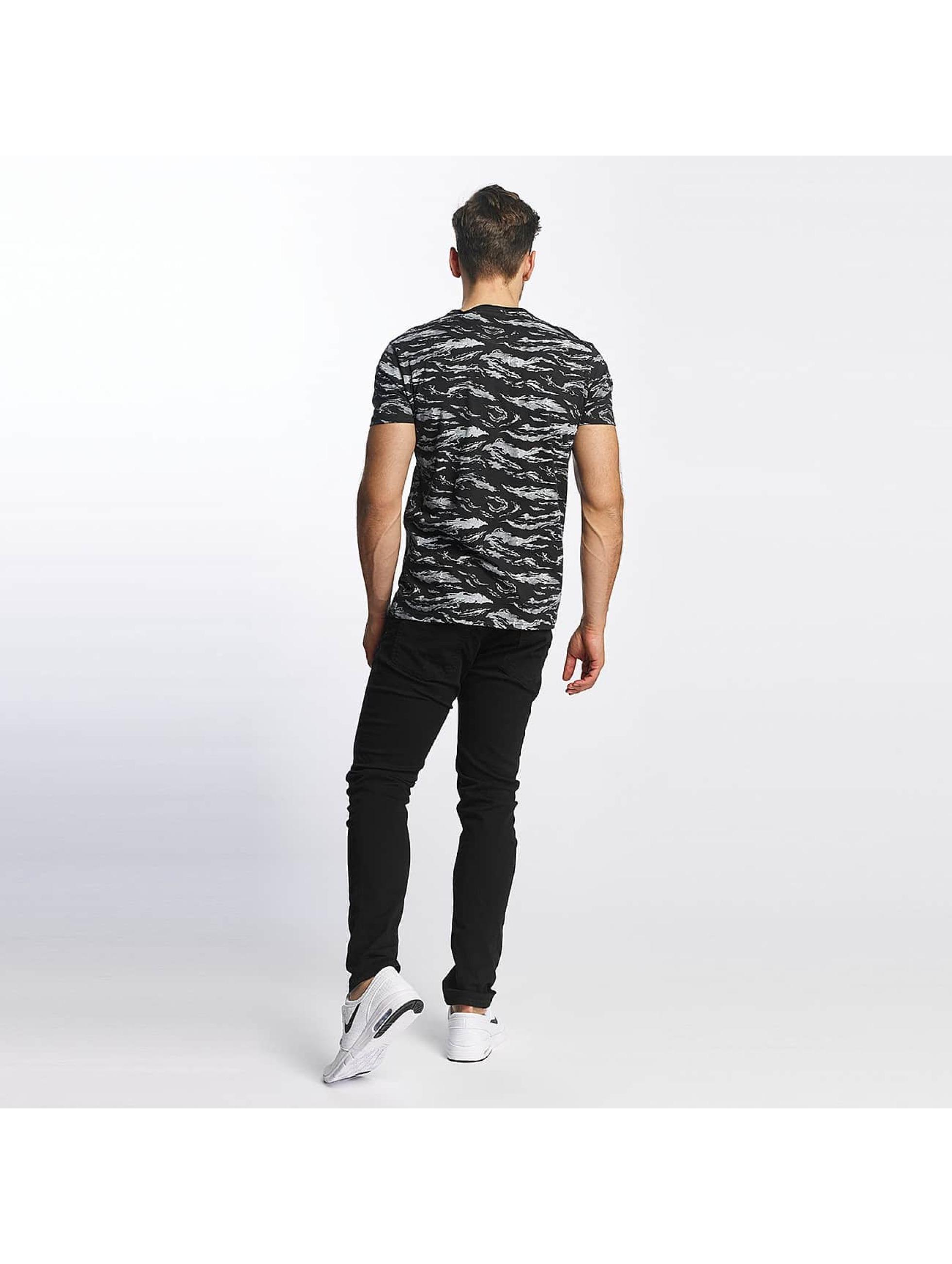 SHINE Original T-Shirt All Over Print schwarz