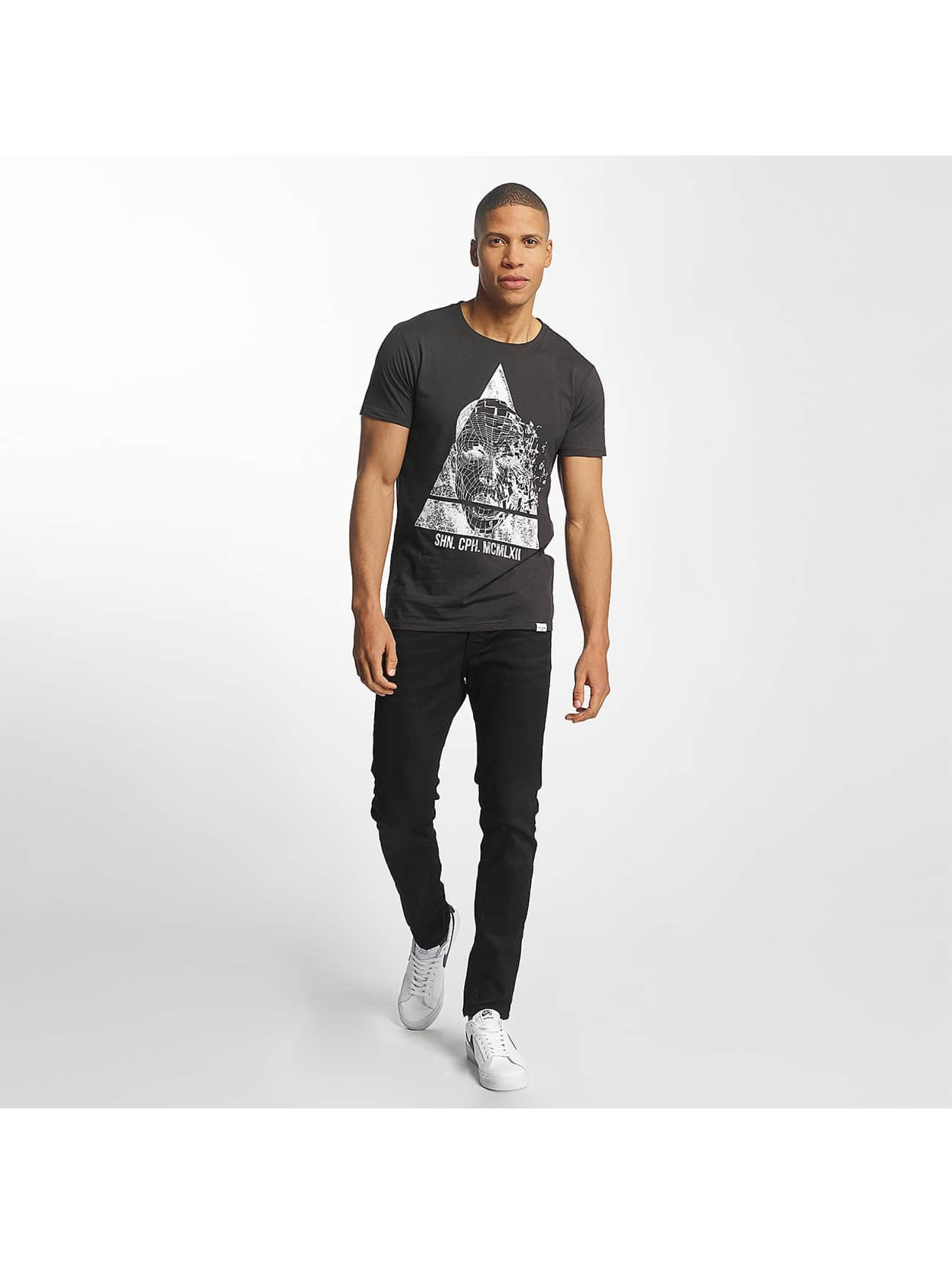 SHINE Original T-Shirt August Graphic schwarz