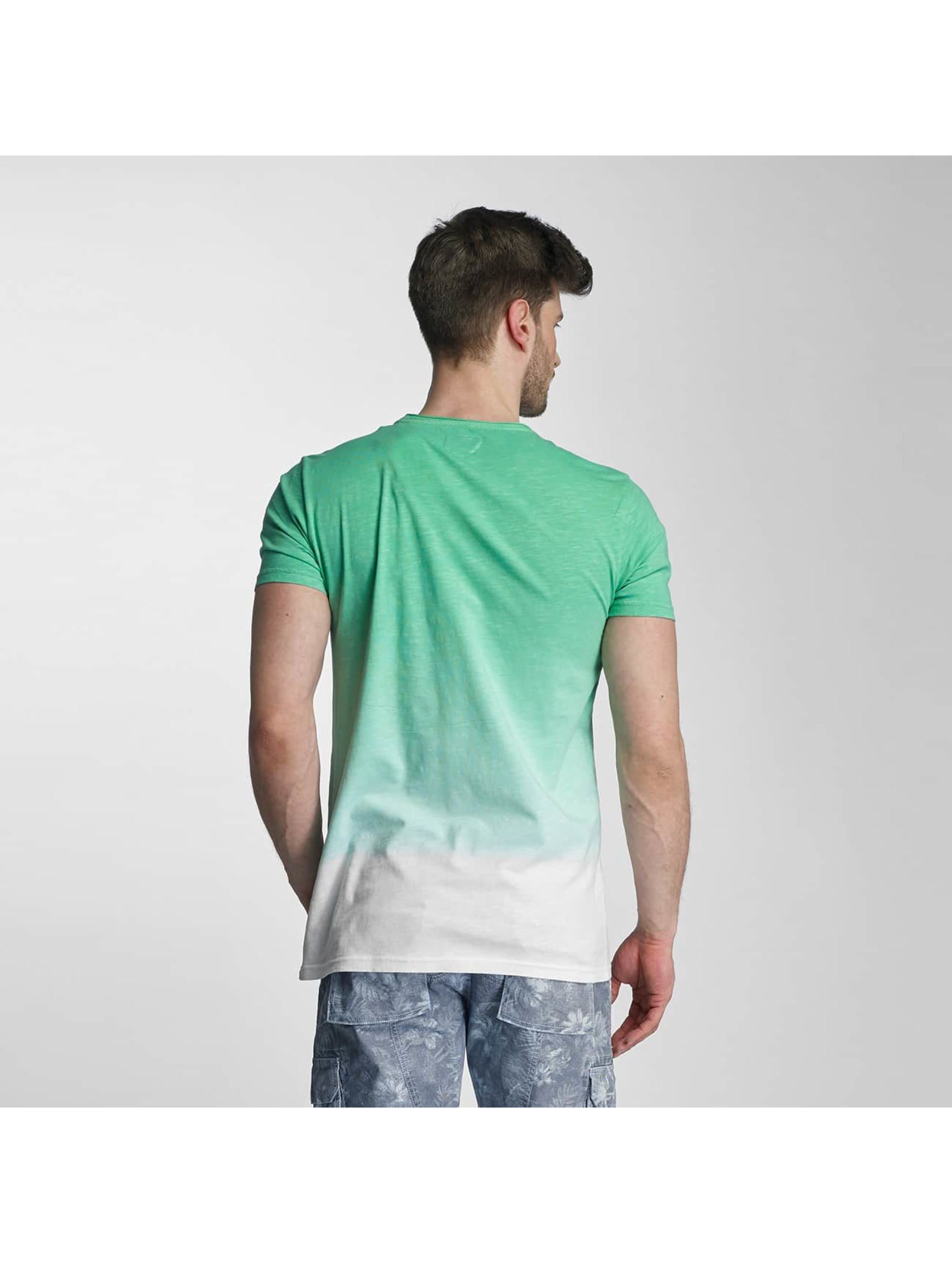 SHINE Original T-shirt Dip Dyed verde