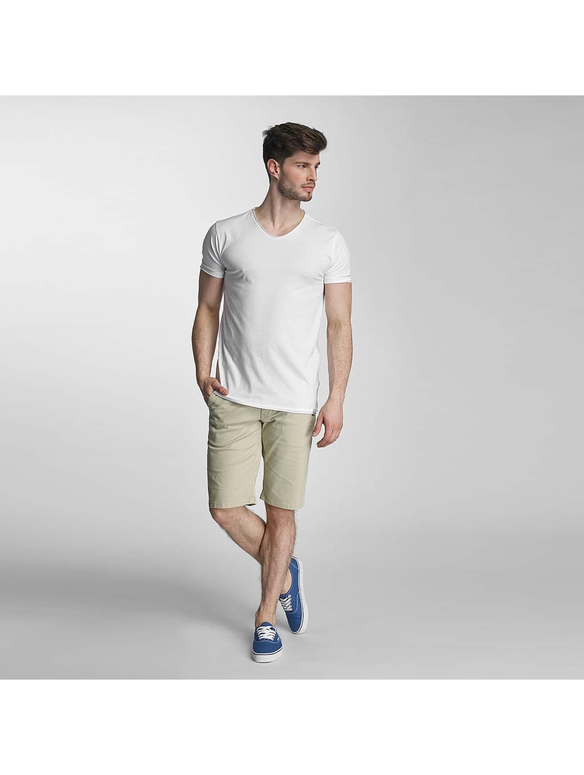 SHINE Original T-Shirt Mélange weiß
