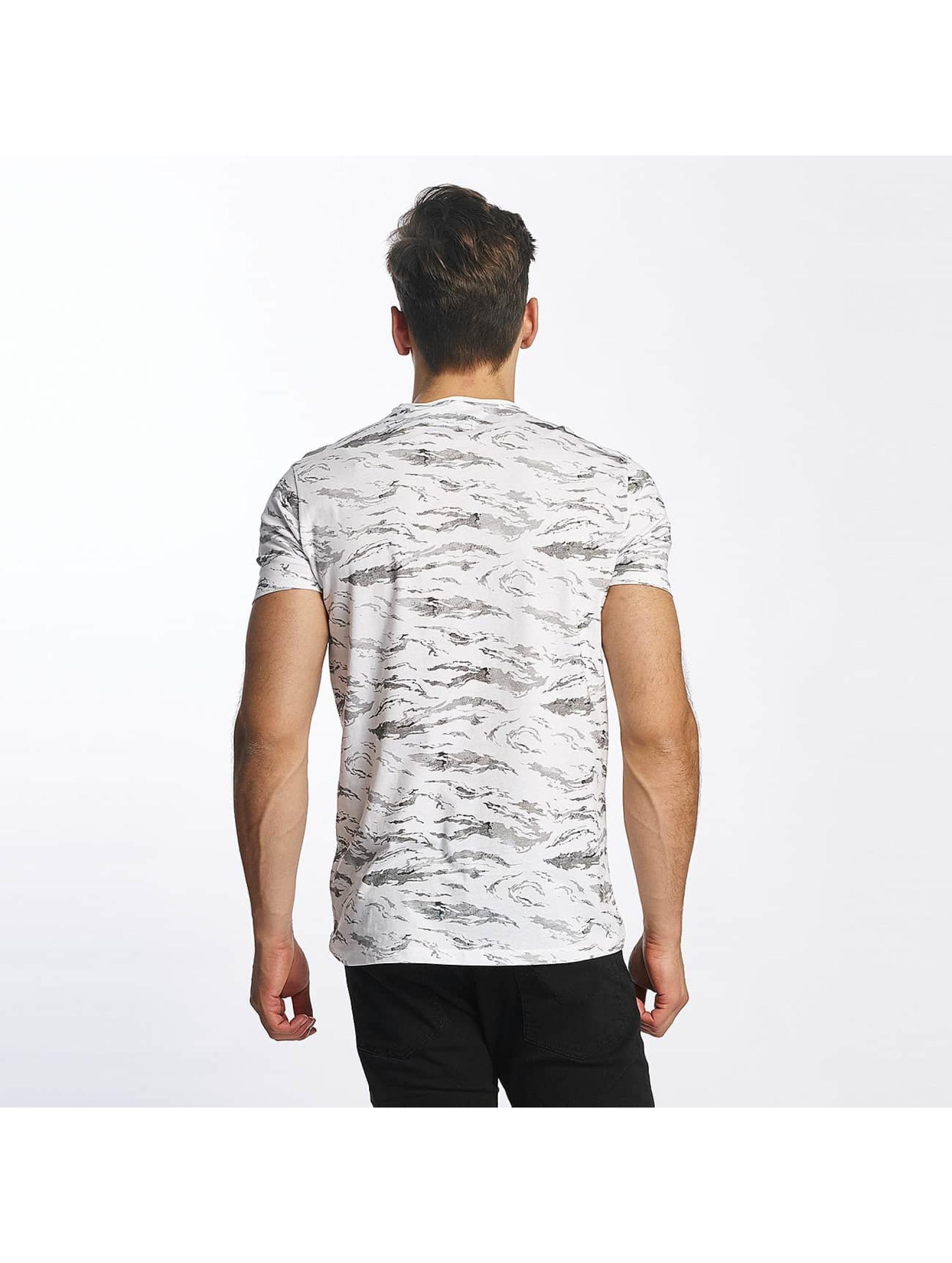 SHINE Original T-Shirt All Over Print weiß