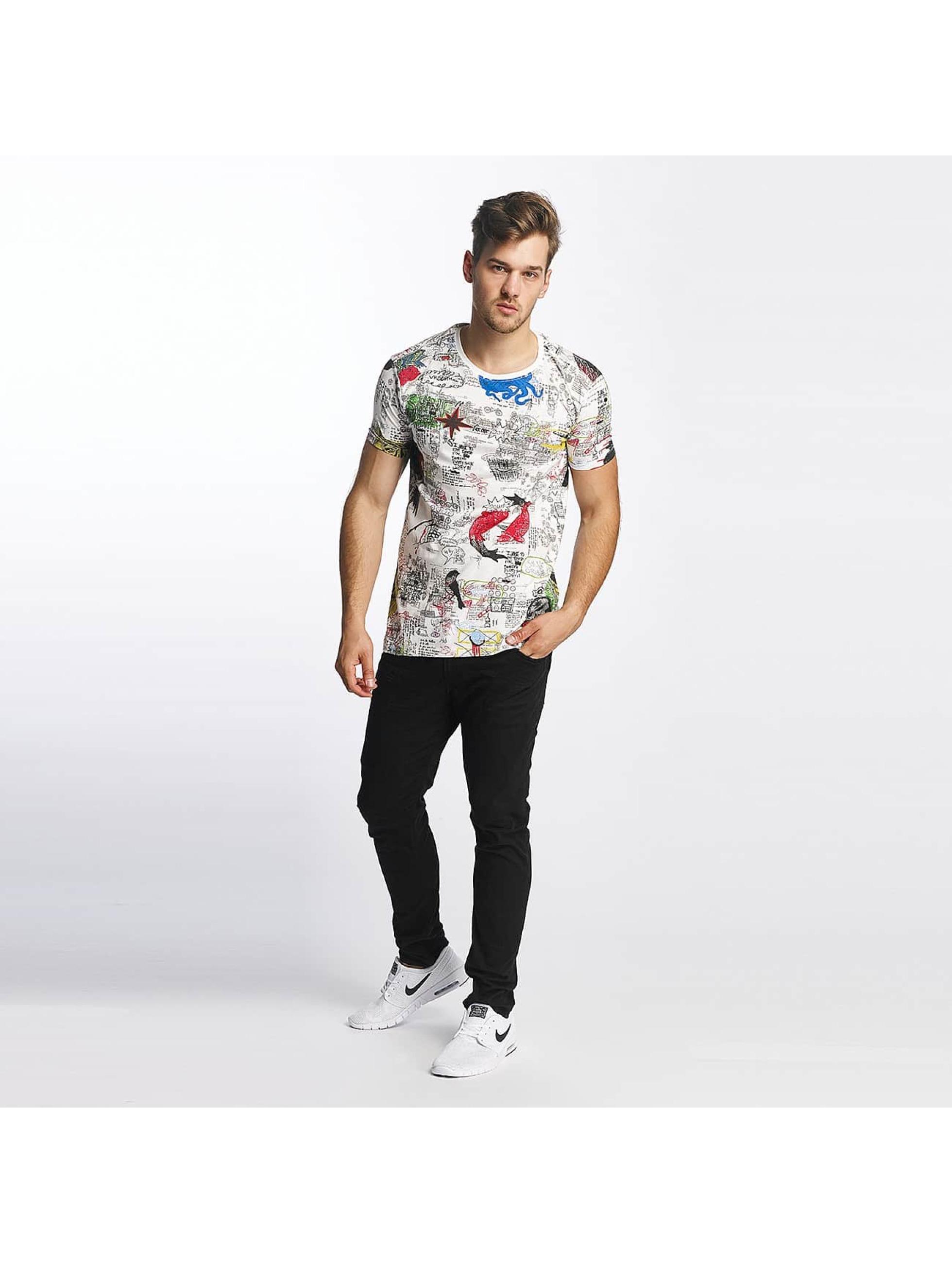 SHINE Original T-Shirt Capsule AOP weiß