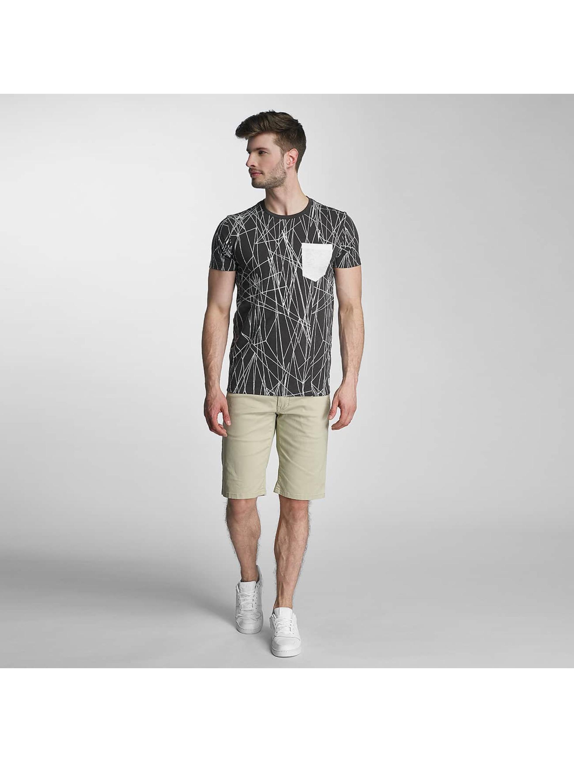 SHINE Original t-shirt Long Oversize Jarrod zwart