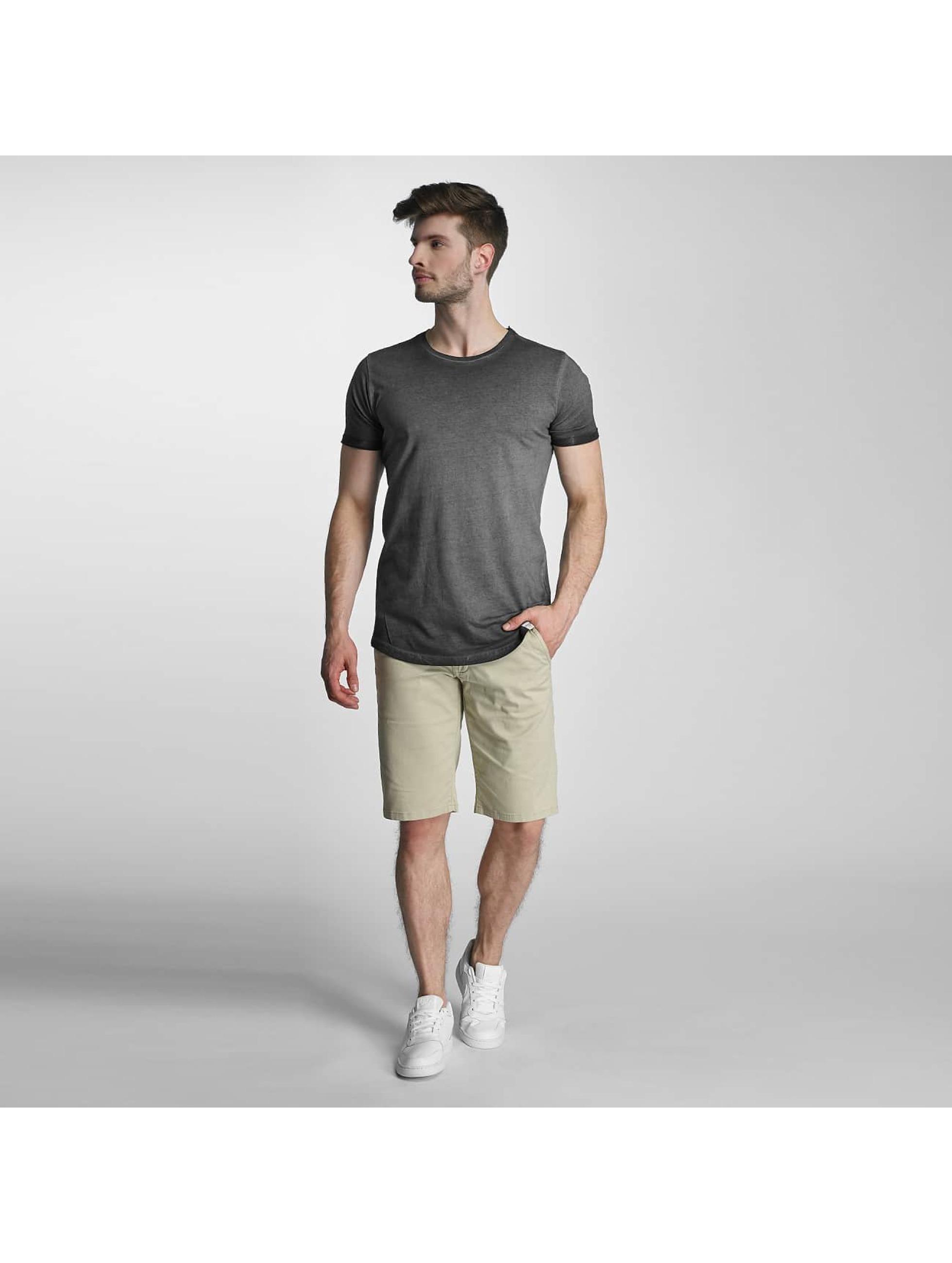 SHINE Original t-shirt Dirt Dye Wash zwart