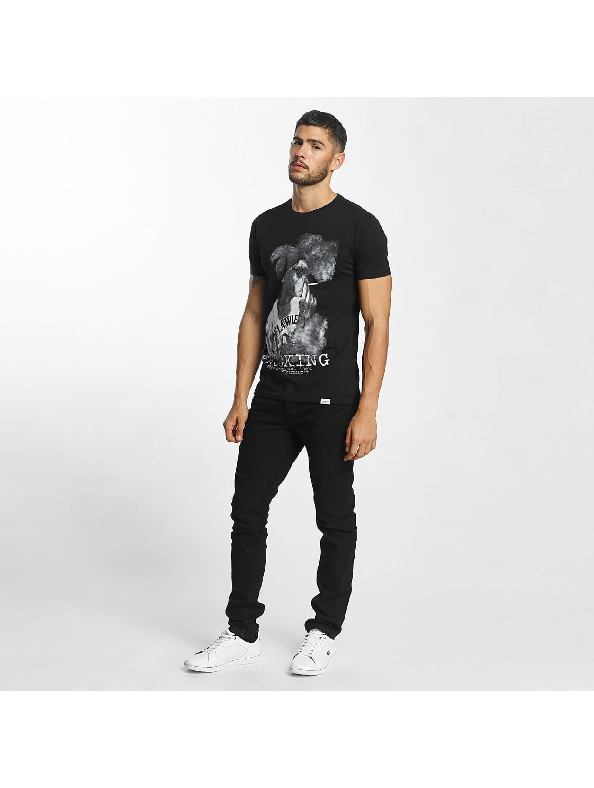 SHINE Original t-shirt Animal Print zwart