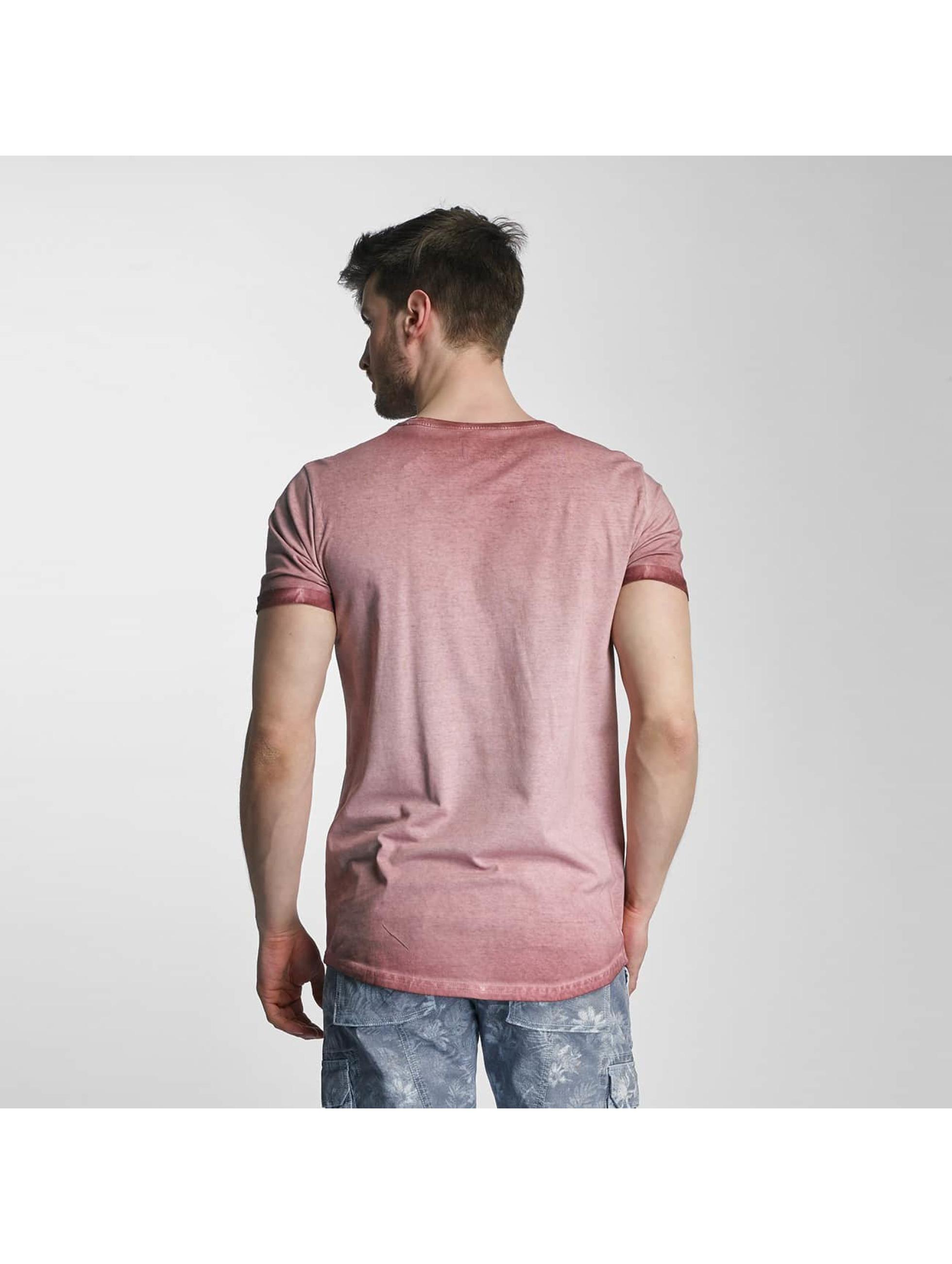 SHINE Original T-shirts Dirt Dye Wash rosa